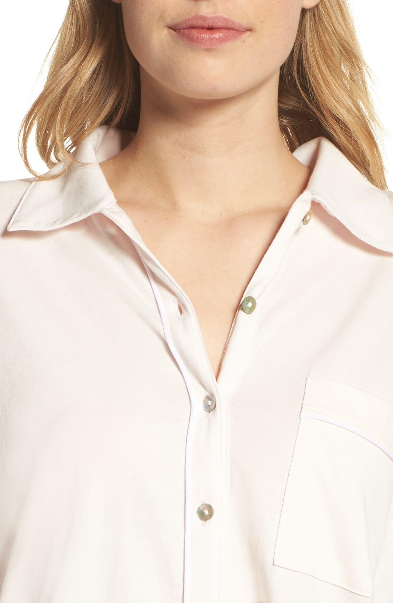 Penelope Pima Cotton Pajamas,                             Alternate thumbnail 4, color,                             689