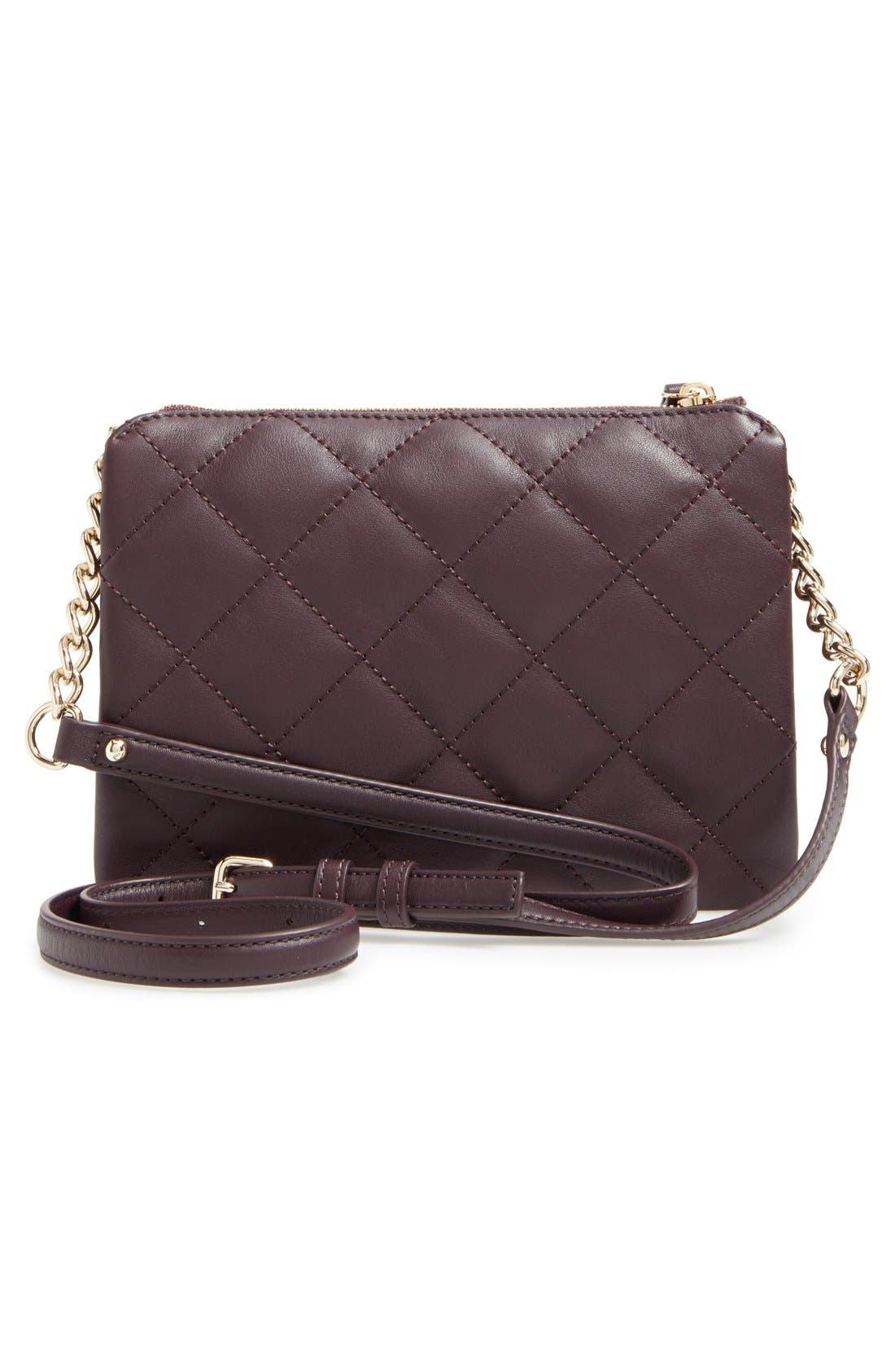emerson place harbor leather crossbody bag,                             Alternate thumbnail 25, color,