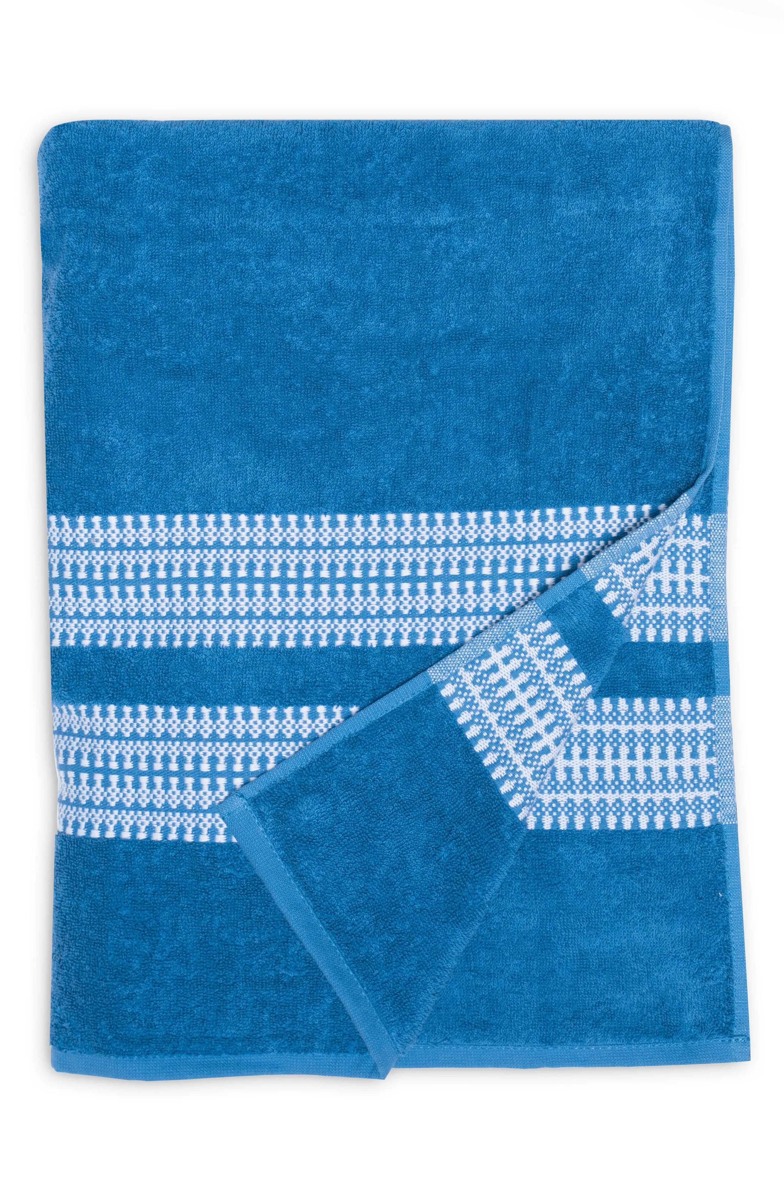 Bay Stripe Beach Towel,                             Main thumbnail 2, color,