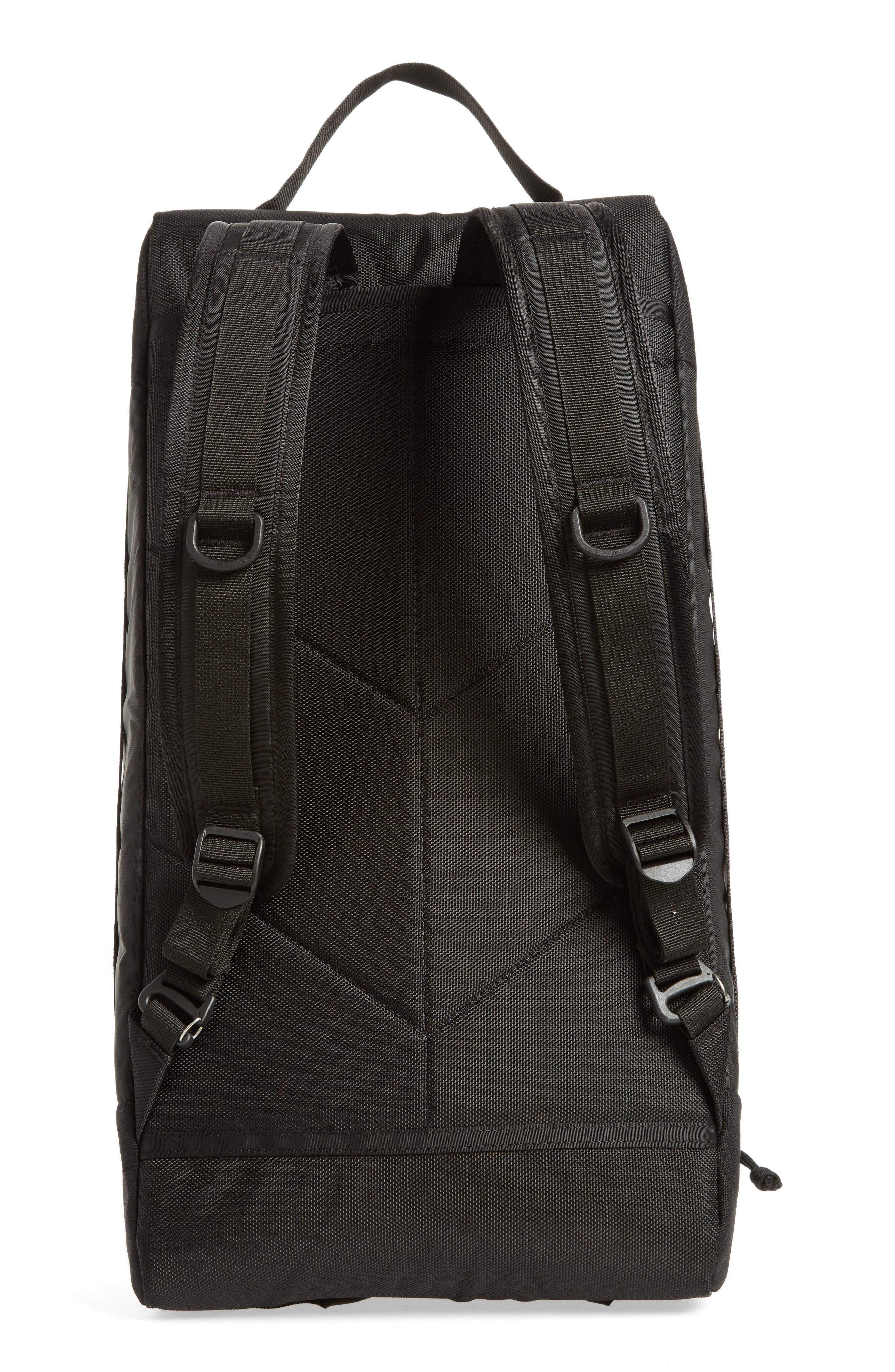 Mountain Convertible Duffel Bag,                             Alternate thumbnail 3, color,                             BLACK