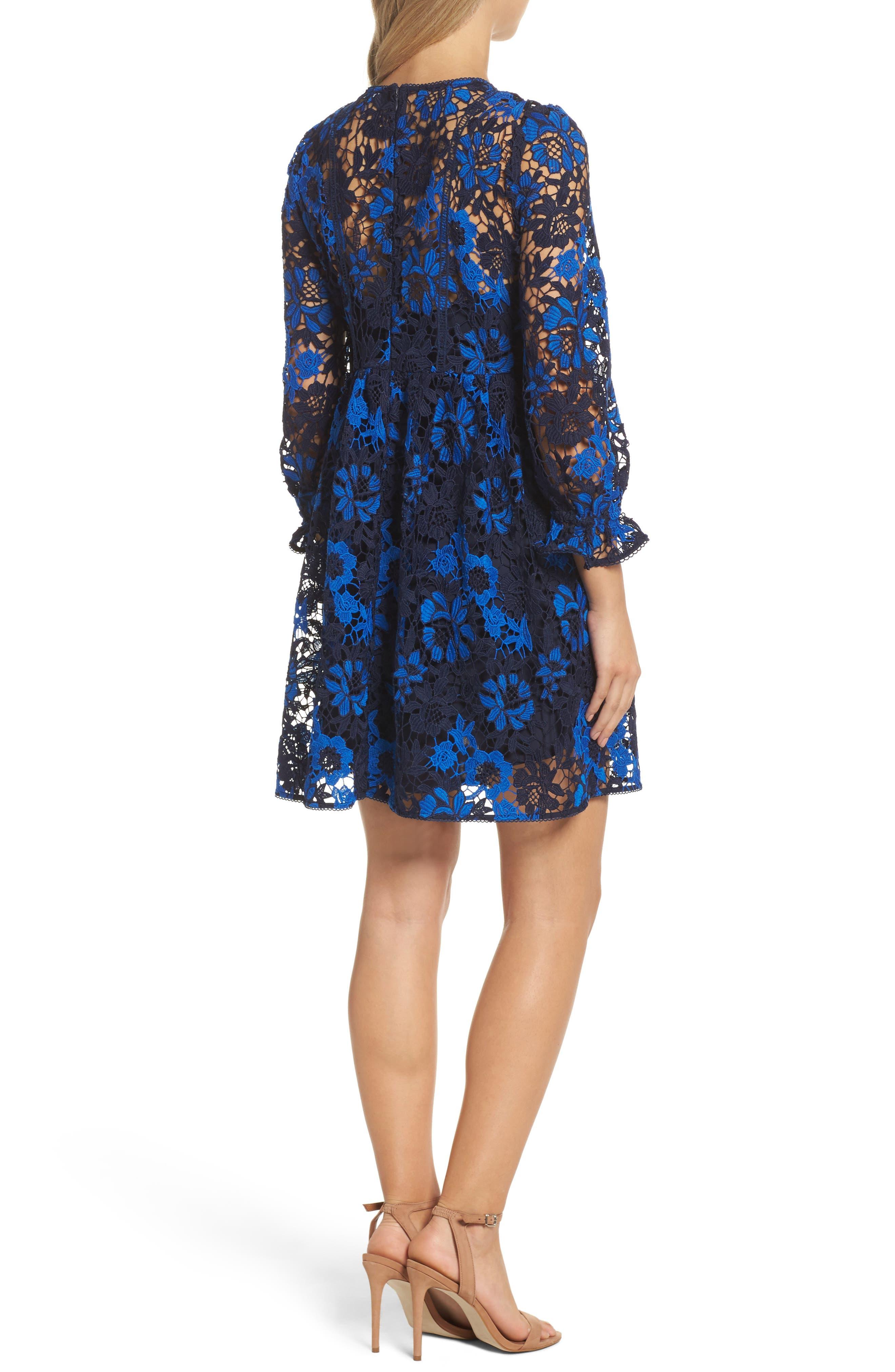 Musa Lace Dress,                             Alternate thumbnail 2, color,