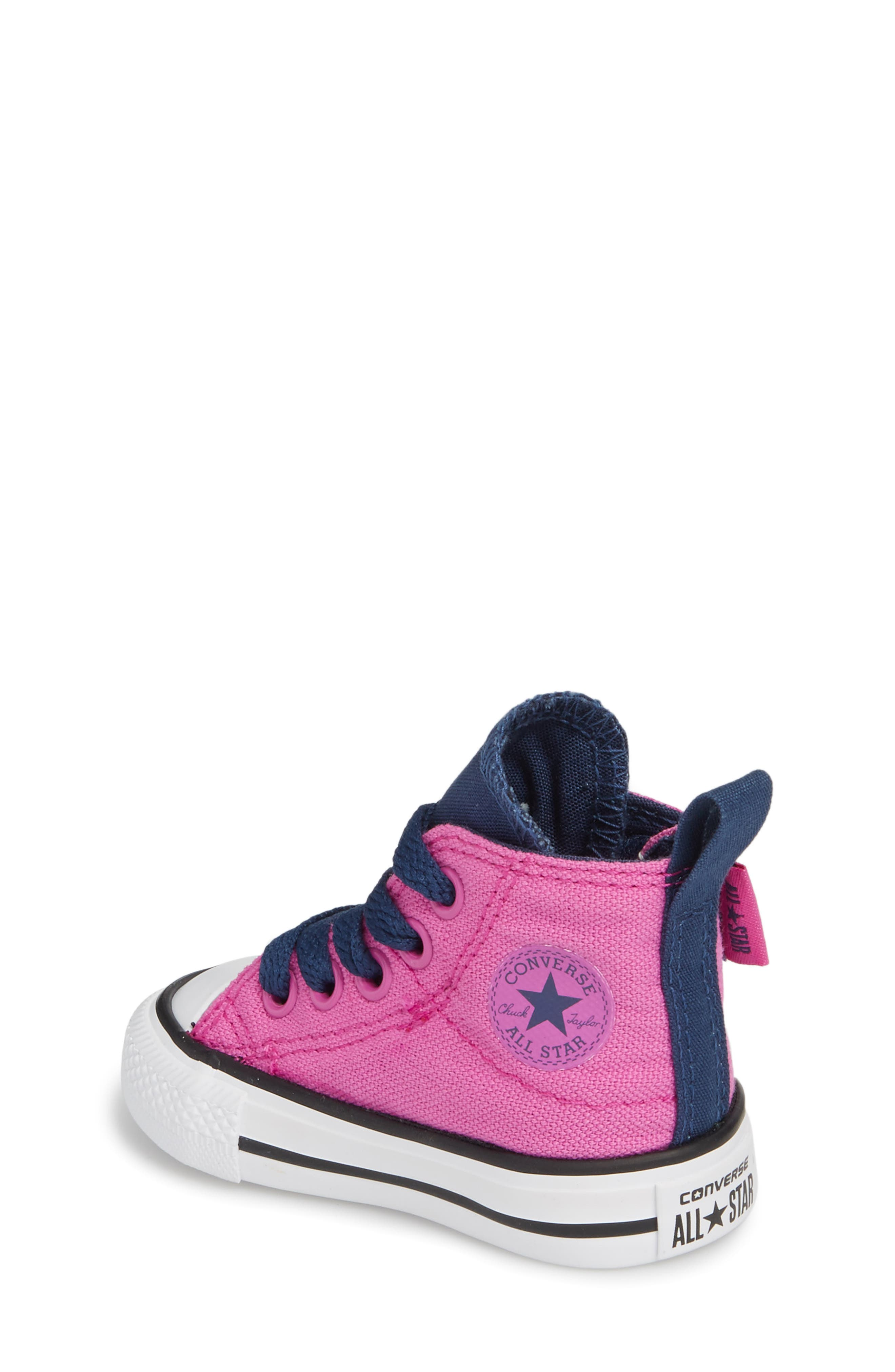 Chuck Taylor<sup>®</sup> All Star<sup>®</sup> 'Simple Step' High Top Sneaker,                             Alternate thumbnail 6, color,