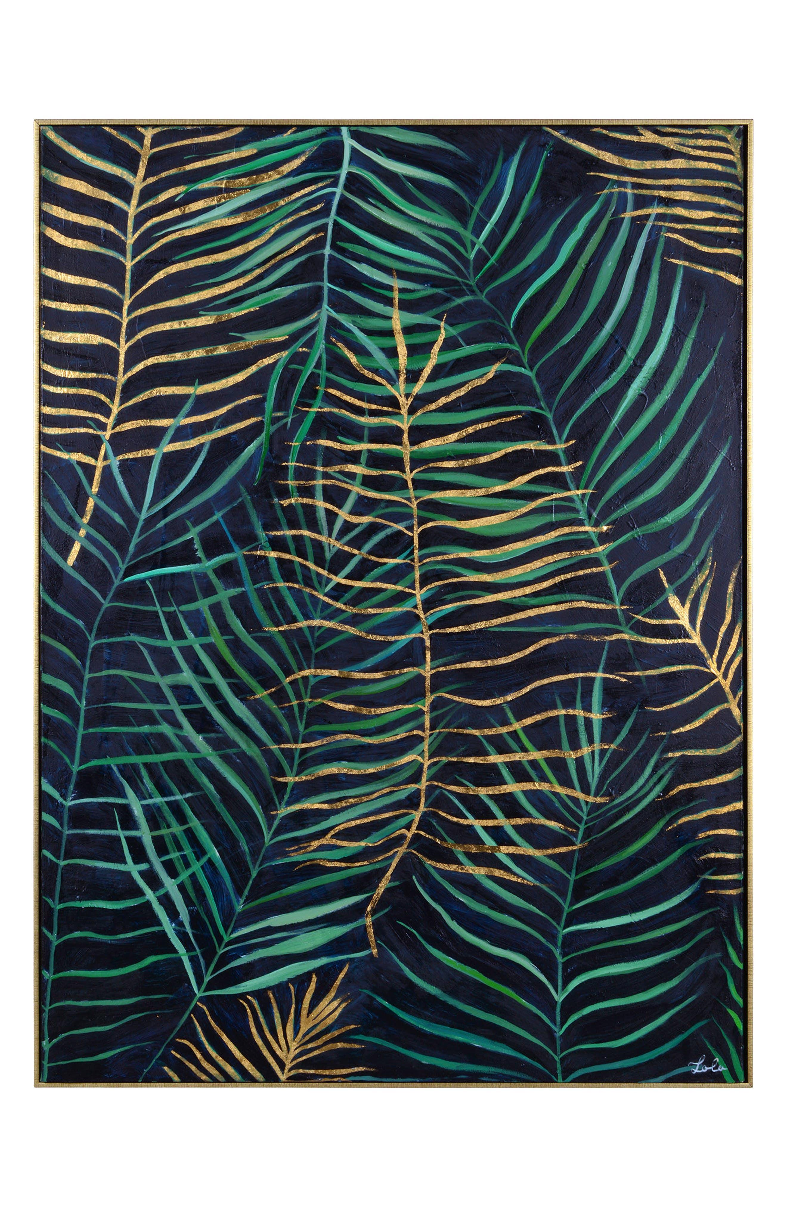 Layers Canvas Wall Art,                             Main thumbnail 1, color,                             440