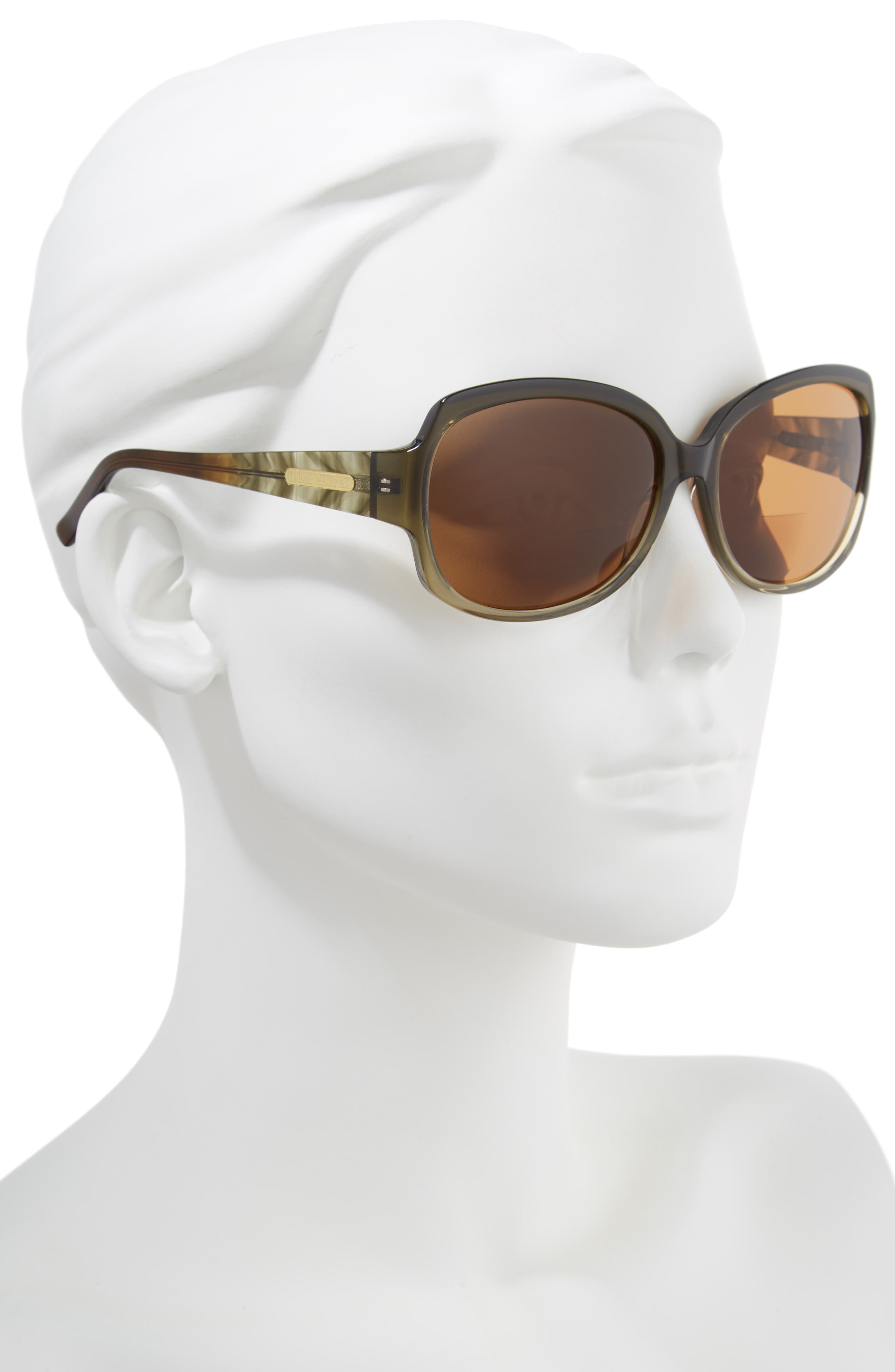 'Elizabeth' 61mm Reading Sunglasses,                             Alternate thumbnail 2, color,                             300
