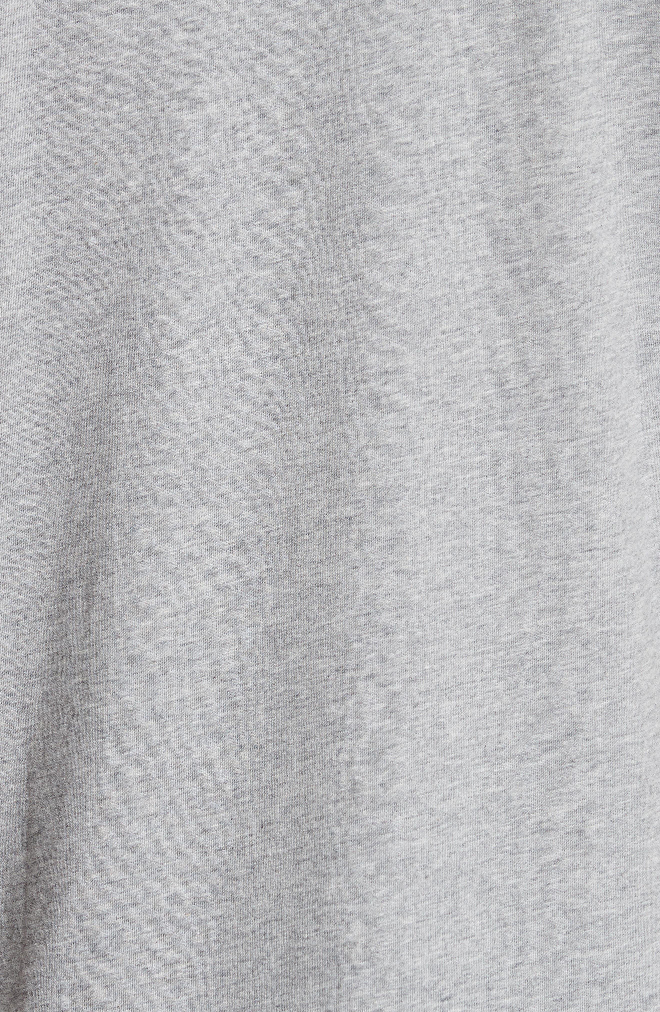 Graphic V-Neck T-Shirt,                             Alternate thumbnail 5, color,                             020
