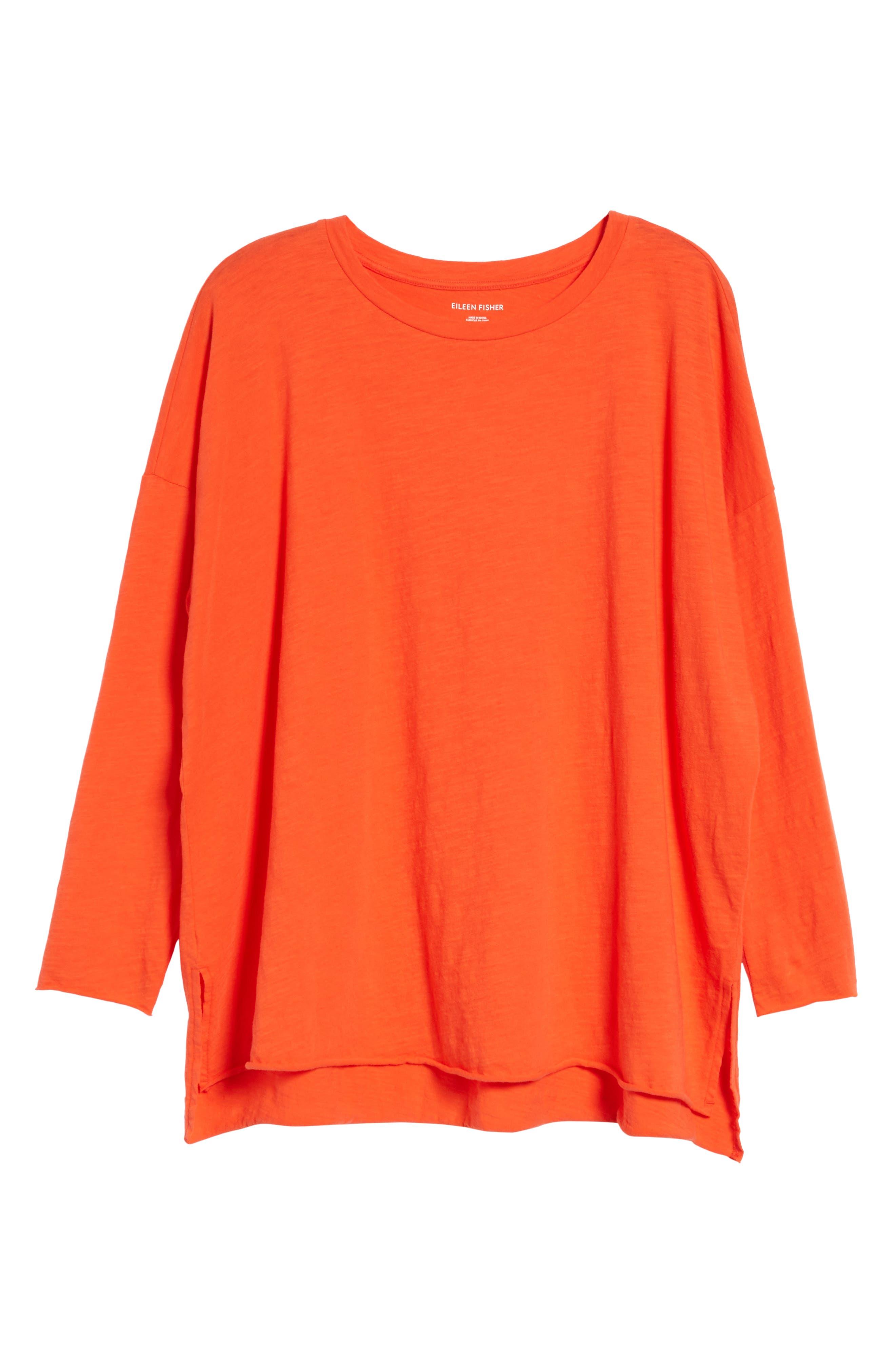 Organic Cotton Knit Top,                             Alternate thumbnail 53, color,