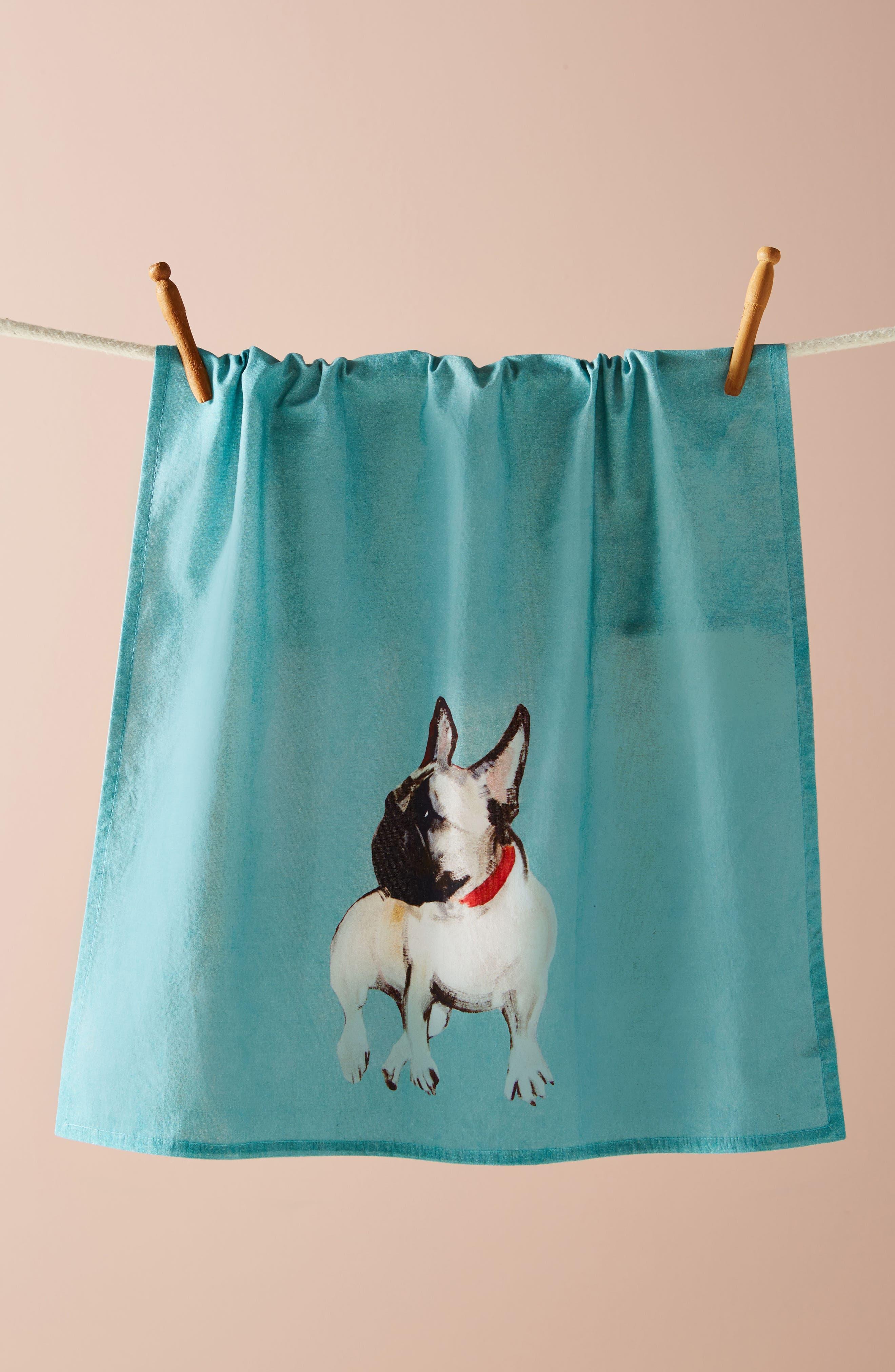 Dog-a-Day Dishtowel,                         Main,                         color, 400