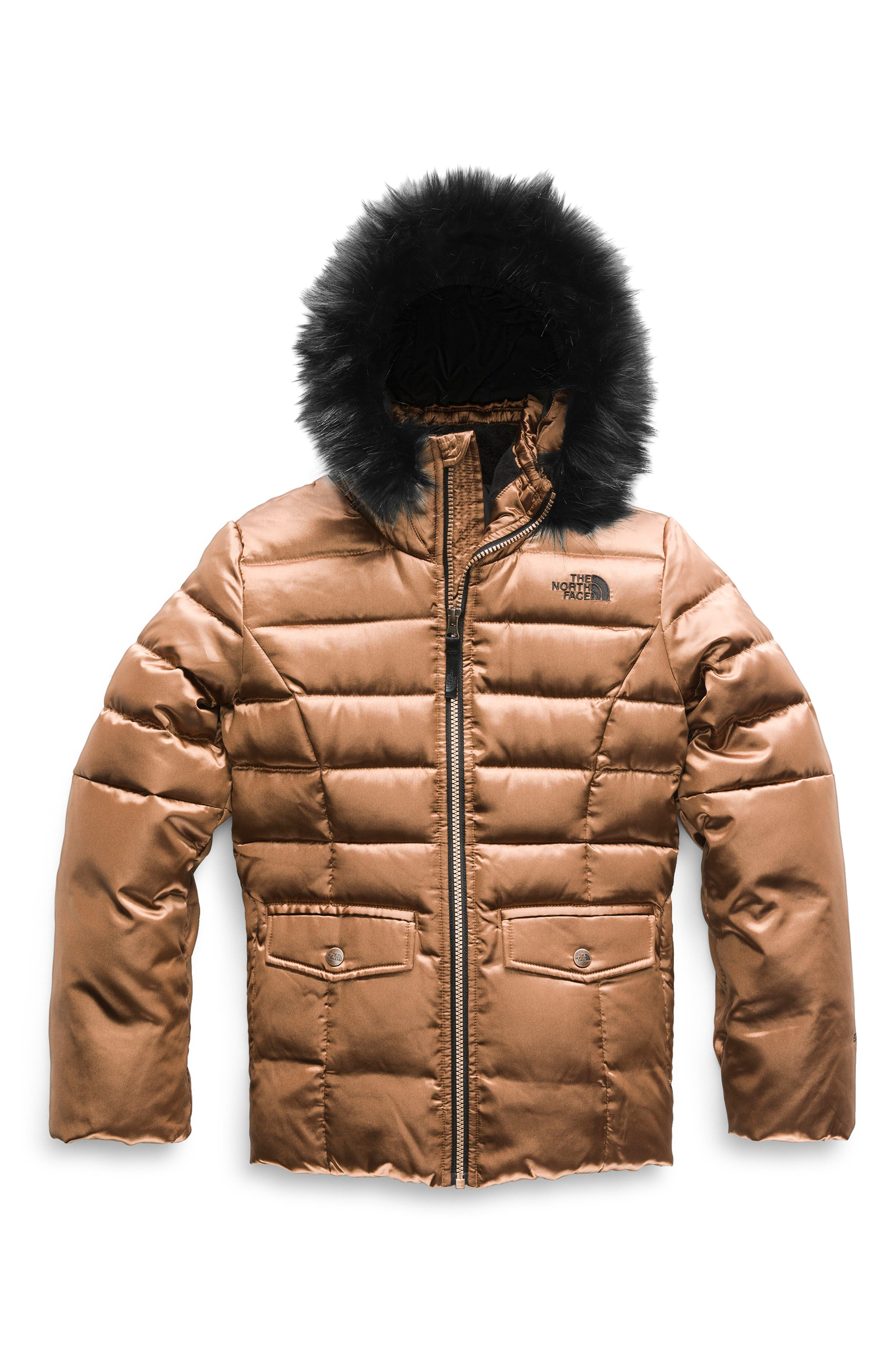 Girl s The North Face Gotham 2.0 Water Resistant 550-Fill-Power Down Jacket  With f520c24c0