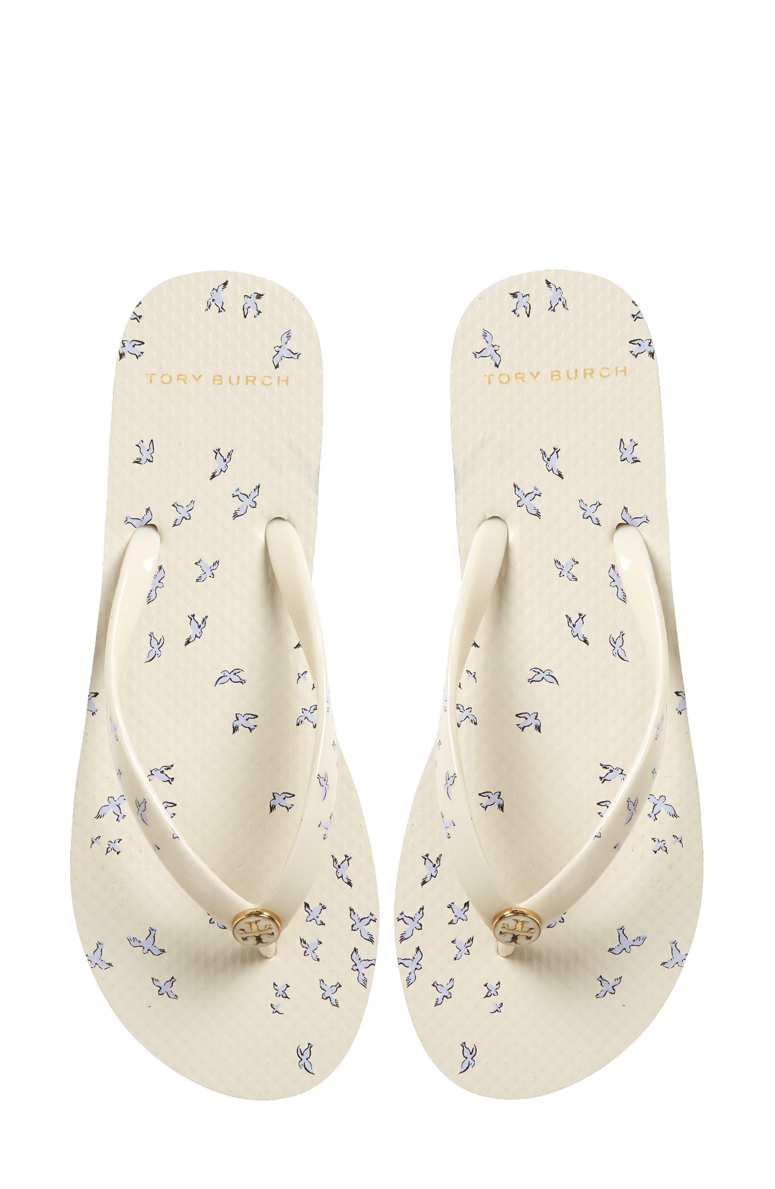 Thin Flip Flop,                             Alternate thumbnail 5, color,                             IVORY EARLY BIRD