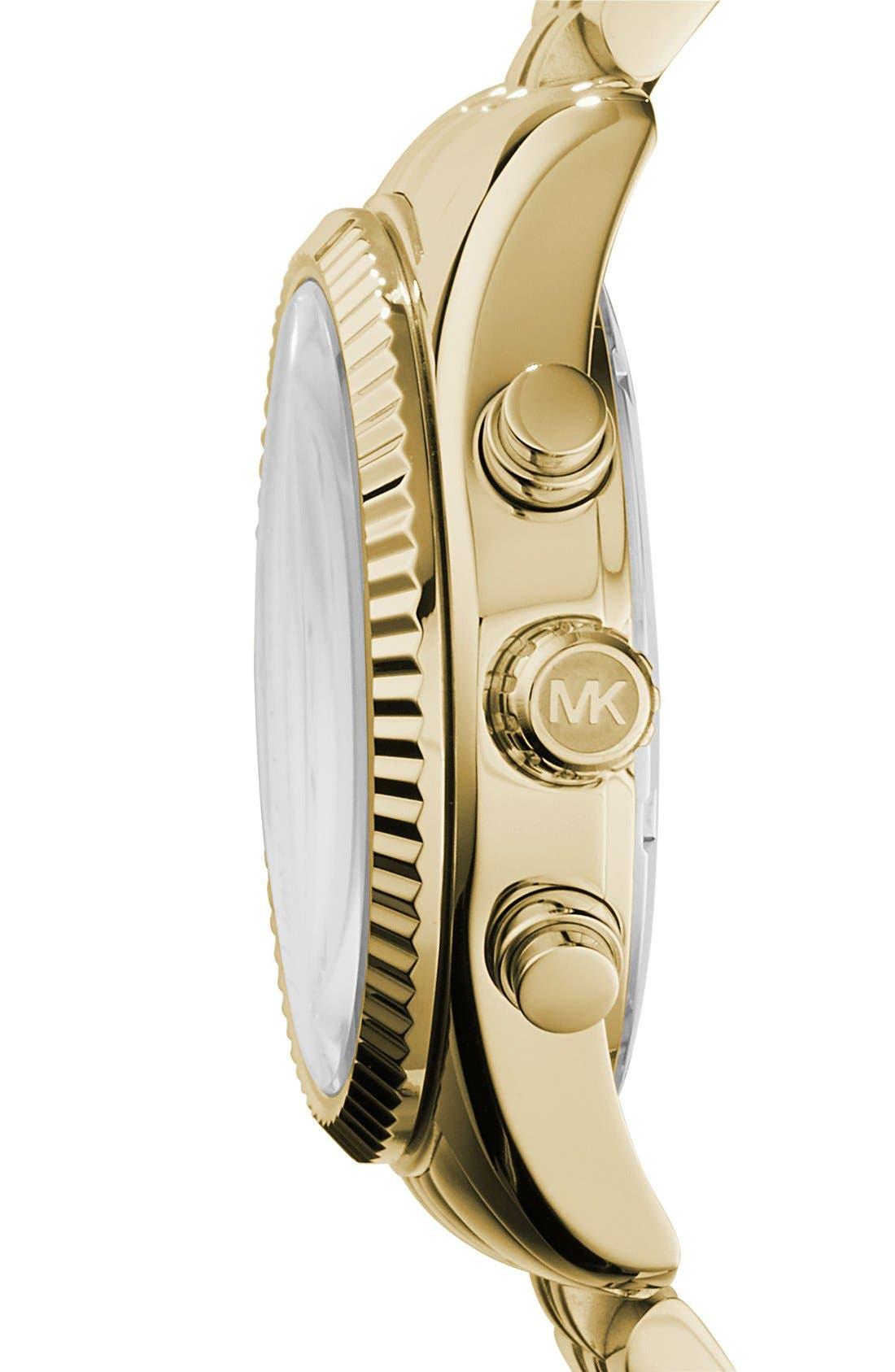 'Lexington' Chronograph Bracelet Watch, 38mm,                             Alternate thumbnail 19, color,