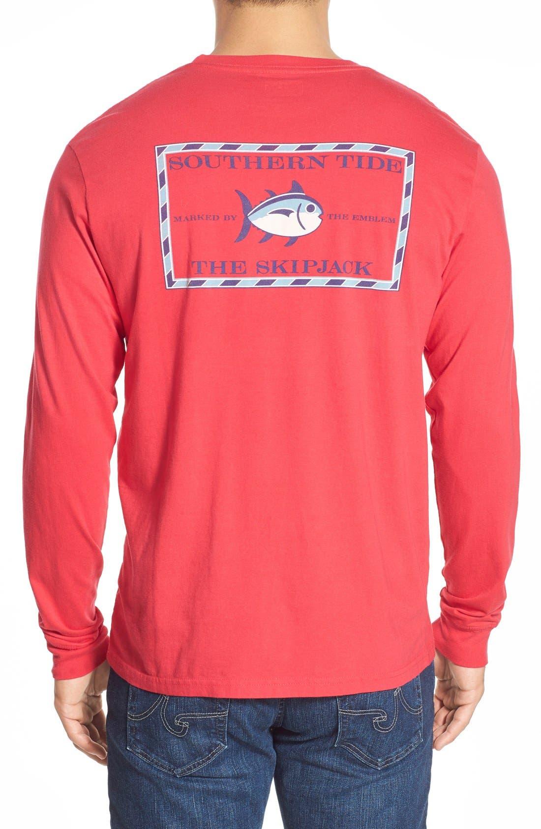 'Skipjack'Long Sleeve Graphic T-Shirt,                             Main thumbnail 10, color,