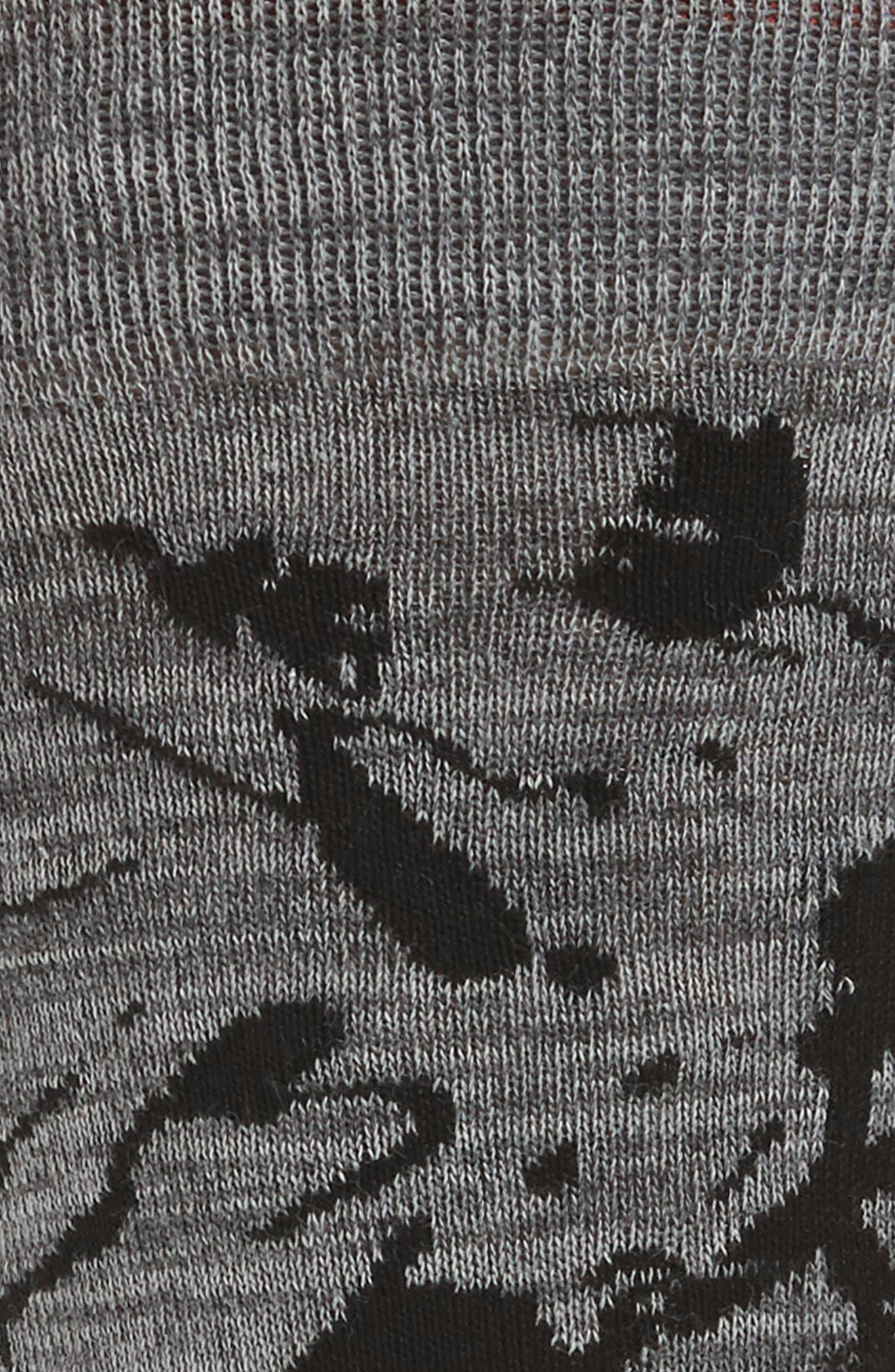 Cotton Blend Socks,                             Alternate thumbnail 3, color,