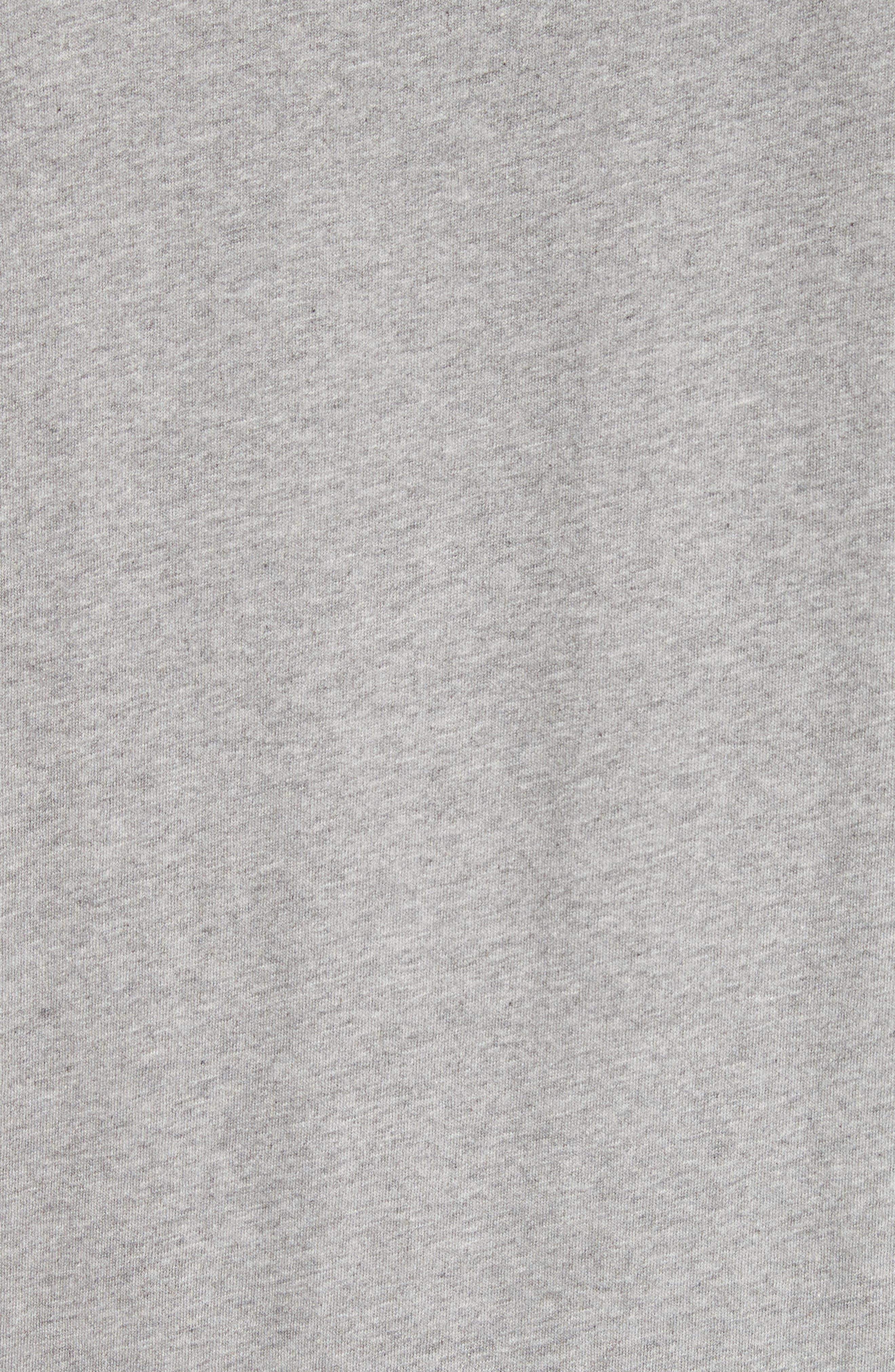 Perfect T-Shirt,                             Alternate thumbnail 5, color,                             GREY MELANGE