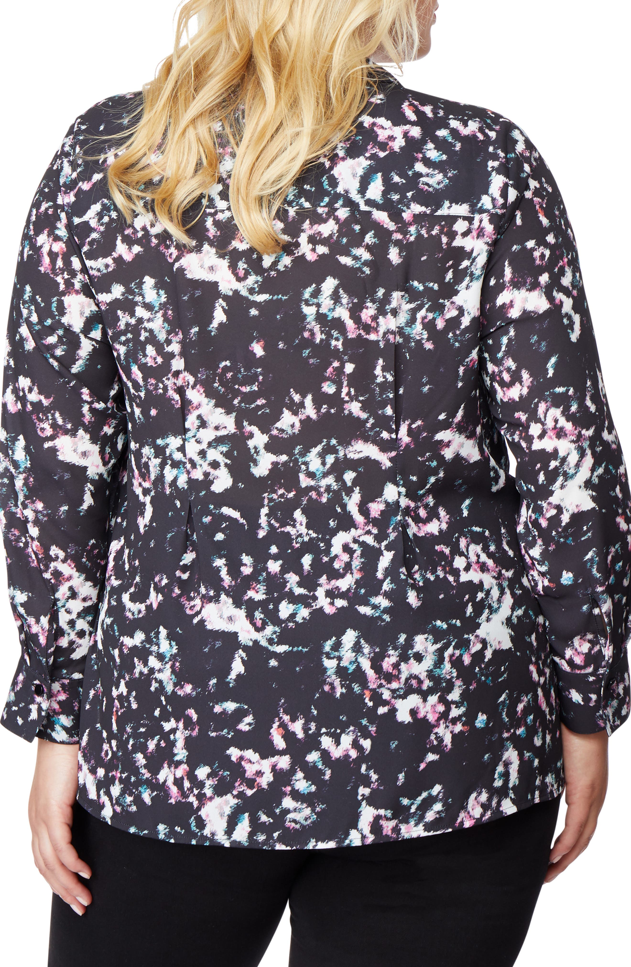 REBEL WILSON X ANGELS,                             Print Blouse,                             Alternate thumbnail 2, color,                             001