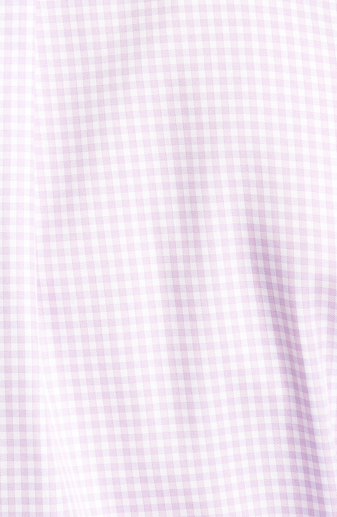 Crown Soft Gingham Regular Fit Sport Shirt,                             Alternate thumbnail 24, color,