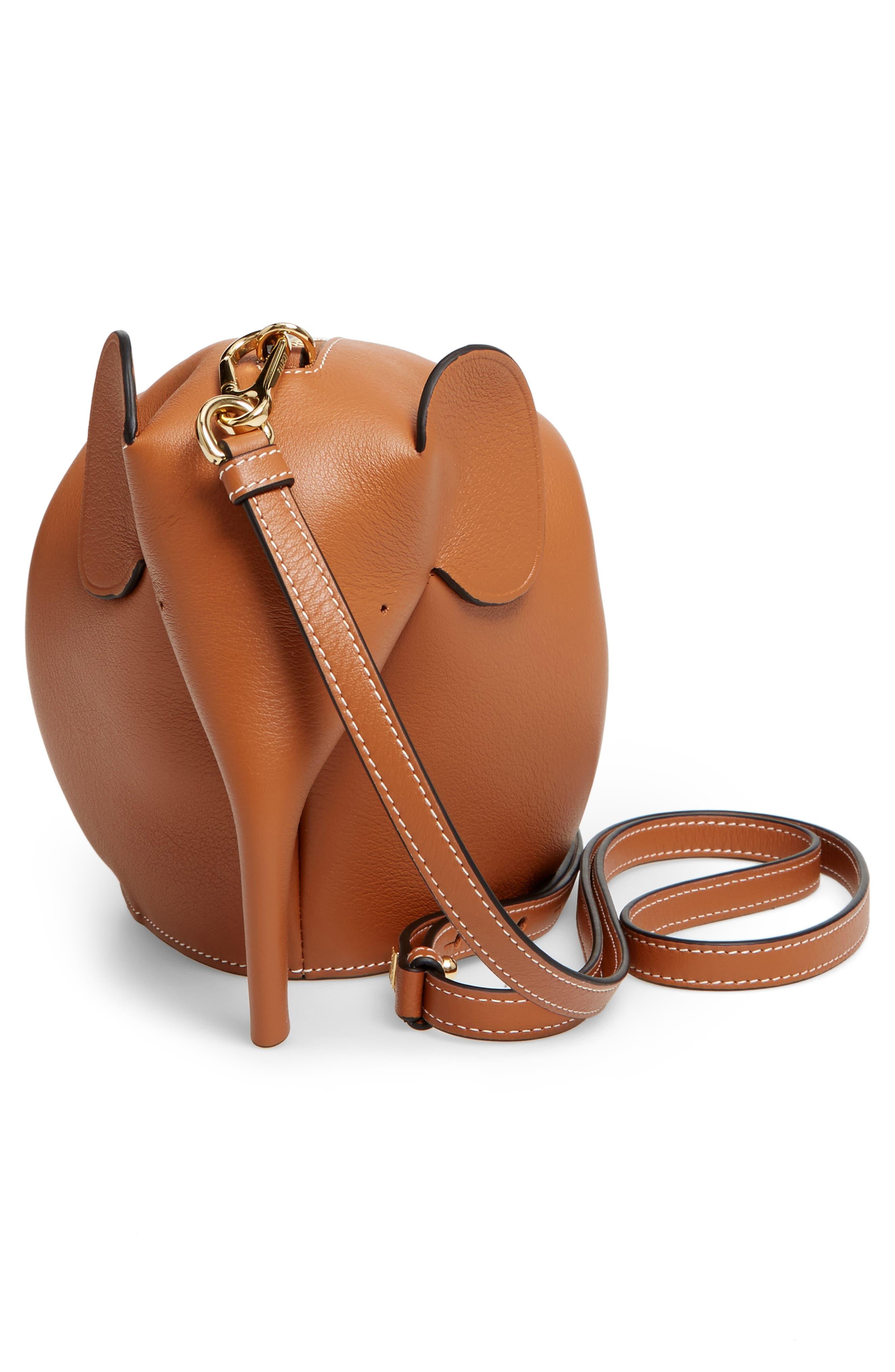 'Mini Elephant' Crossbody Bag,                             Alternate thumbnail 35, color,