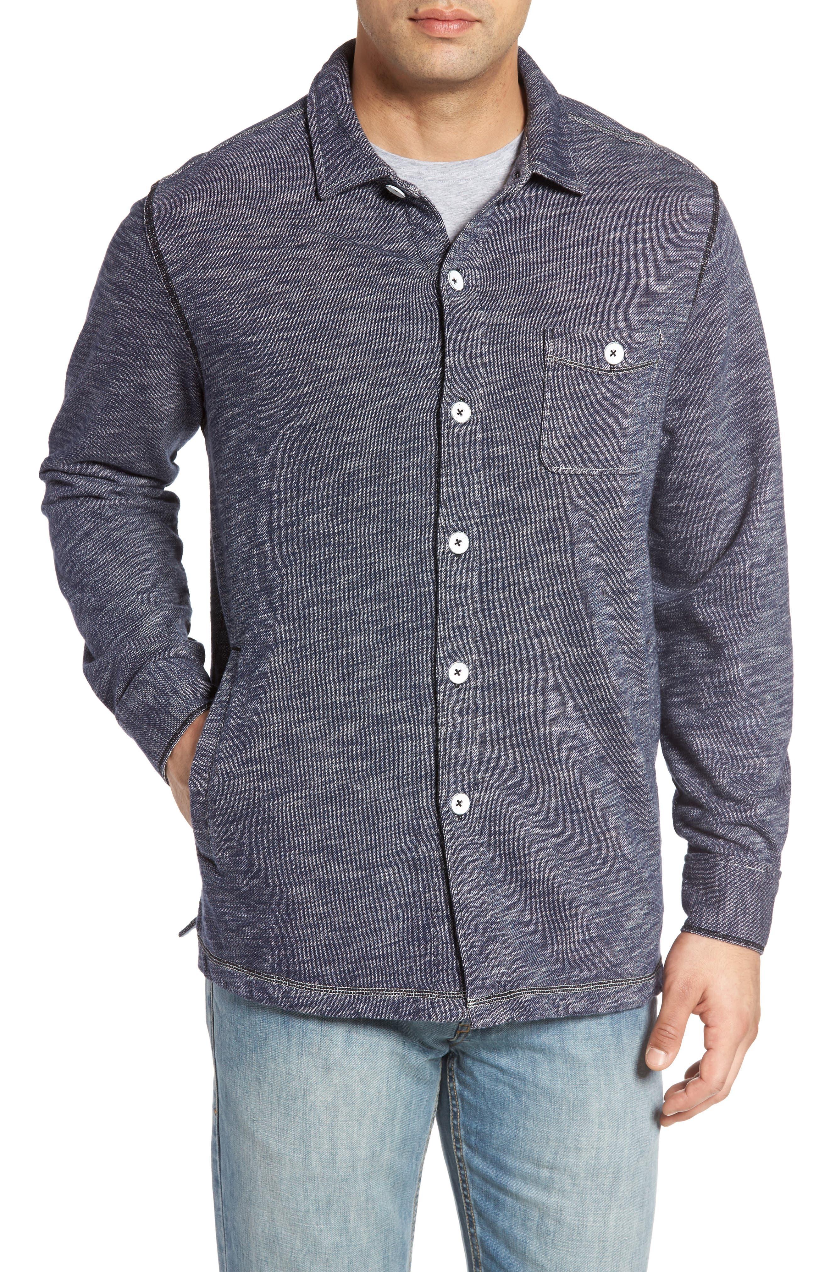 Beach Ridge Shirt Jacket,                             Alternate thumbnail 4, color,                             400