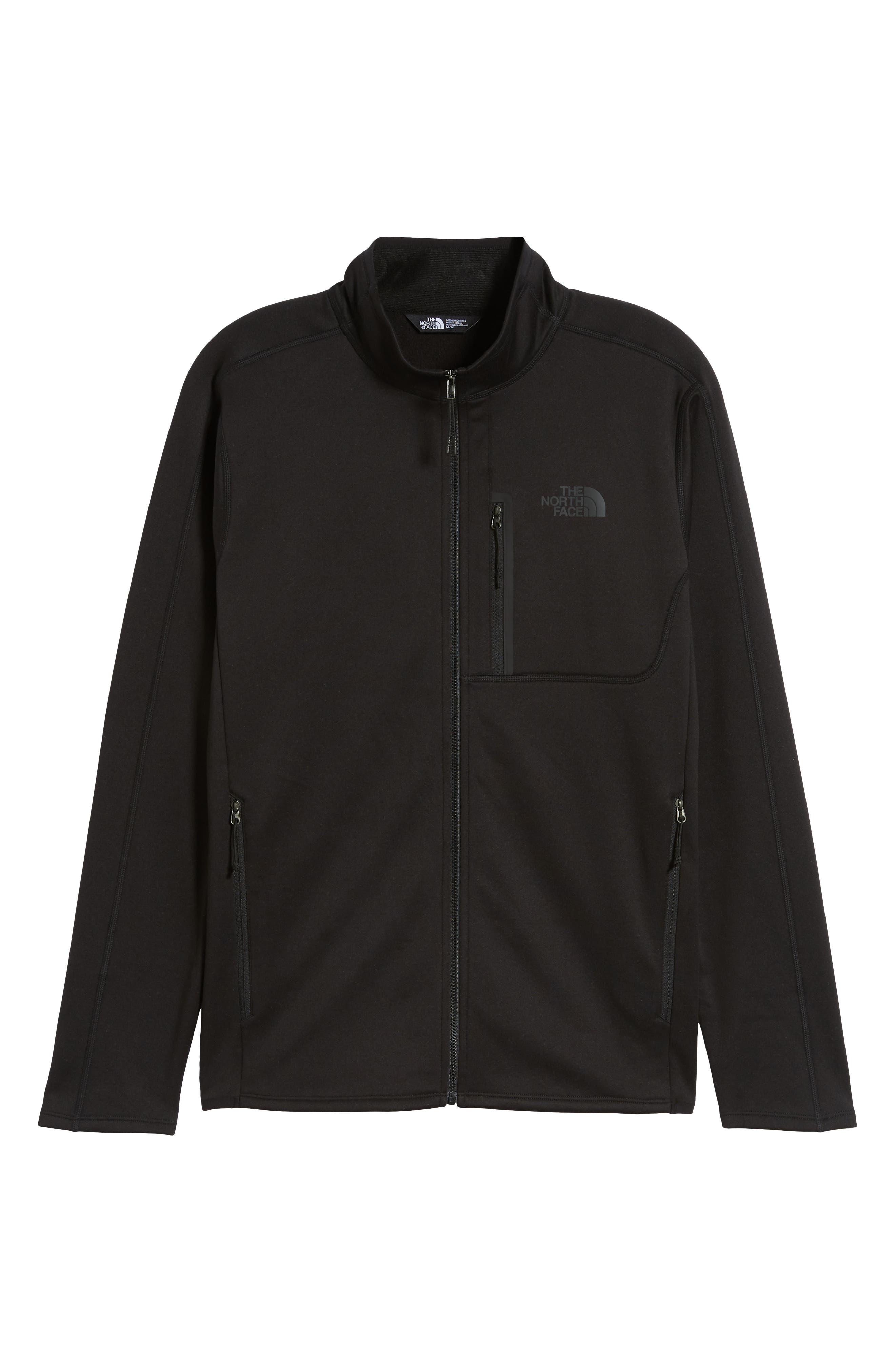 THE NORTH FACE,                             Canyonlands Zip Jacket,                             Alternate thumbnail 6, color,                             TNF BLACK