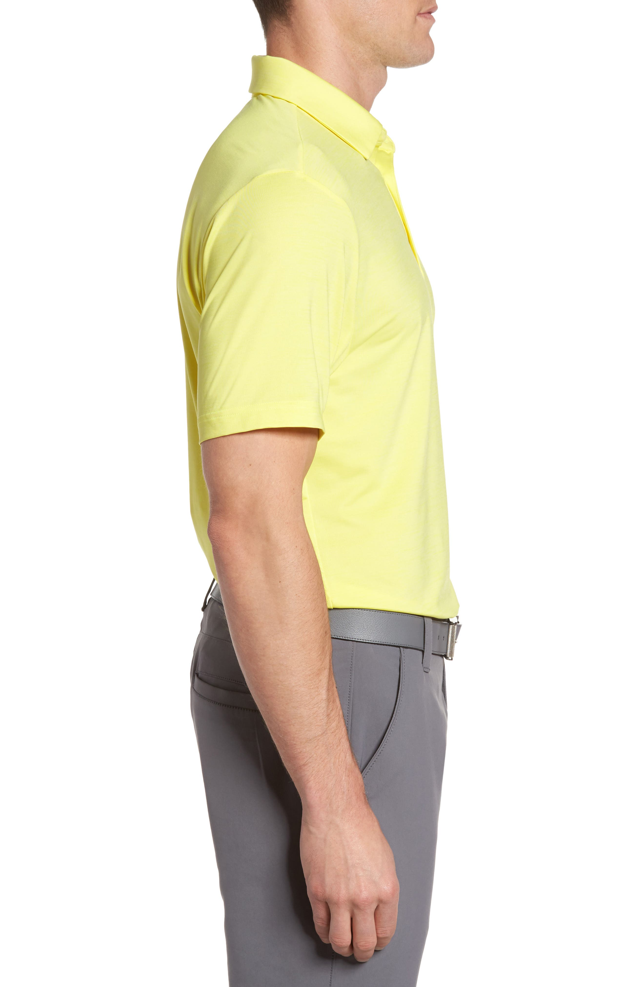 'Playoff' Loose Fit Short Sleeve Polo,                             Alternate thumbnail 169, color,