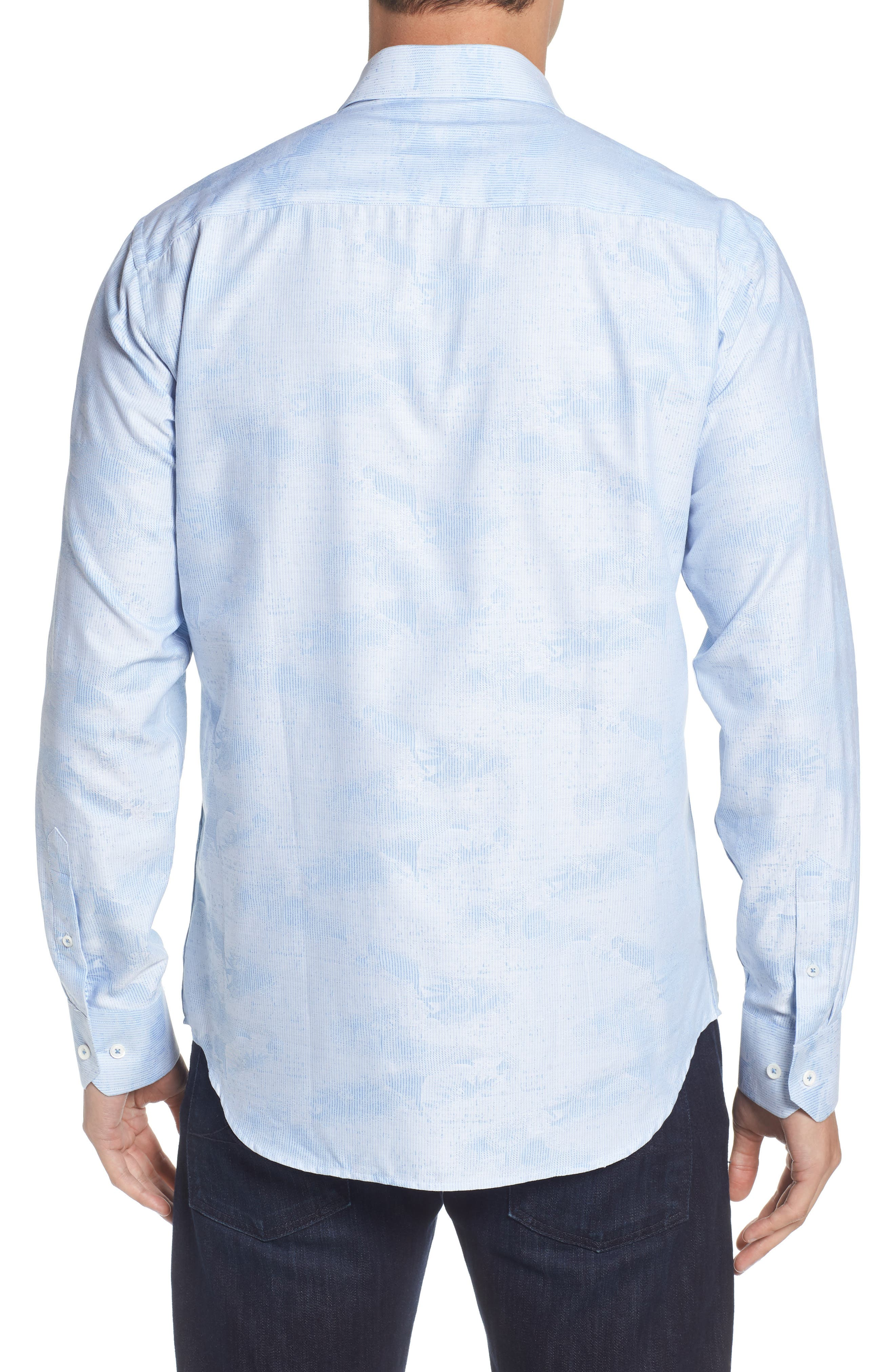 Woven Sport Shirt,                             Alternate thumbnail 2, color,                             459