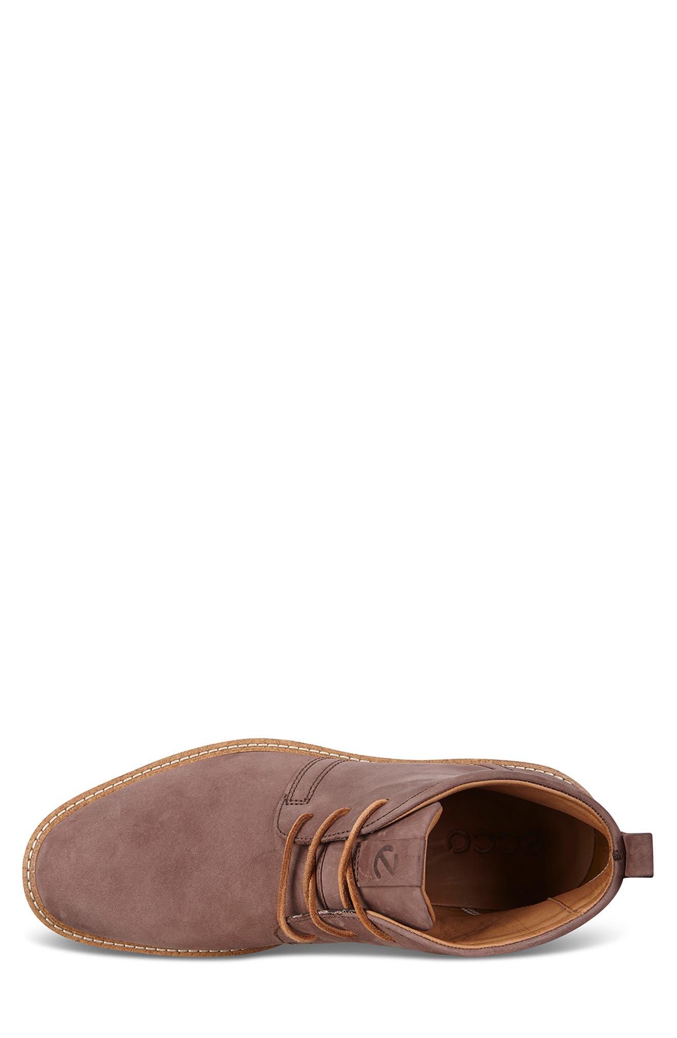 'Jeremy Hybrid' Plain Toe Boot,                             Alternate thumbnail 4, color,                             COFFEE LEATHER