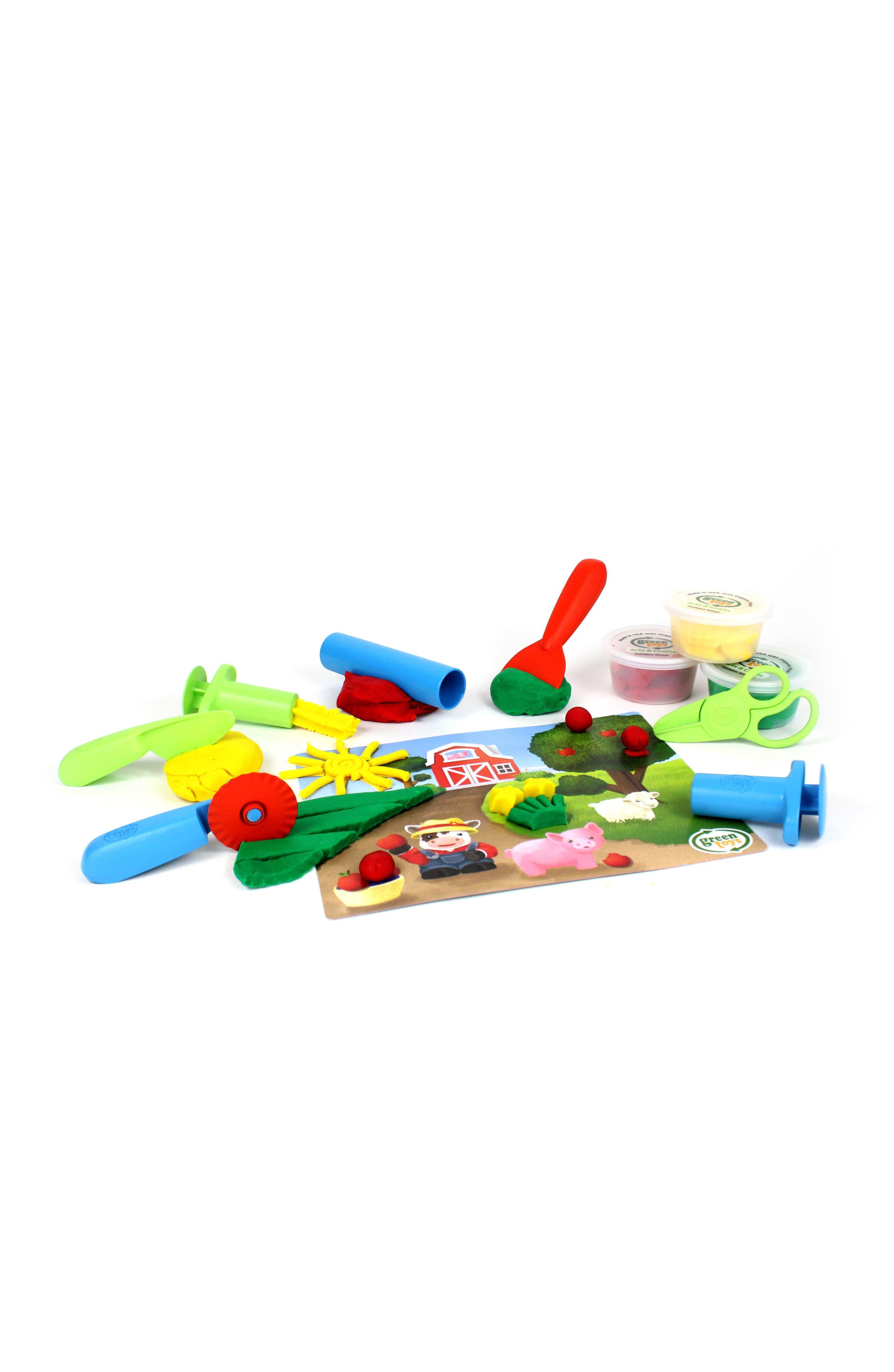 11-Piece Plastic Farm Tool Essentials Dough Set,                             Alternate thumbnail 2, color,                             300