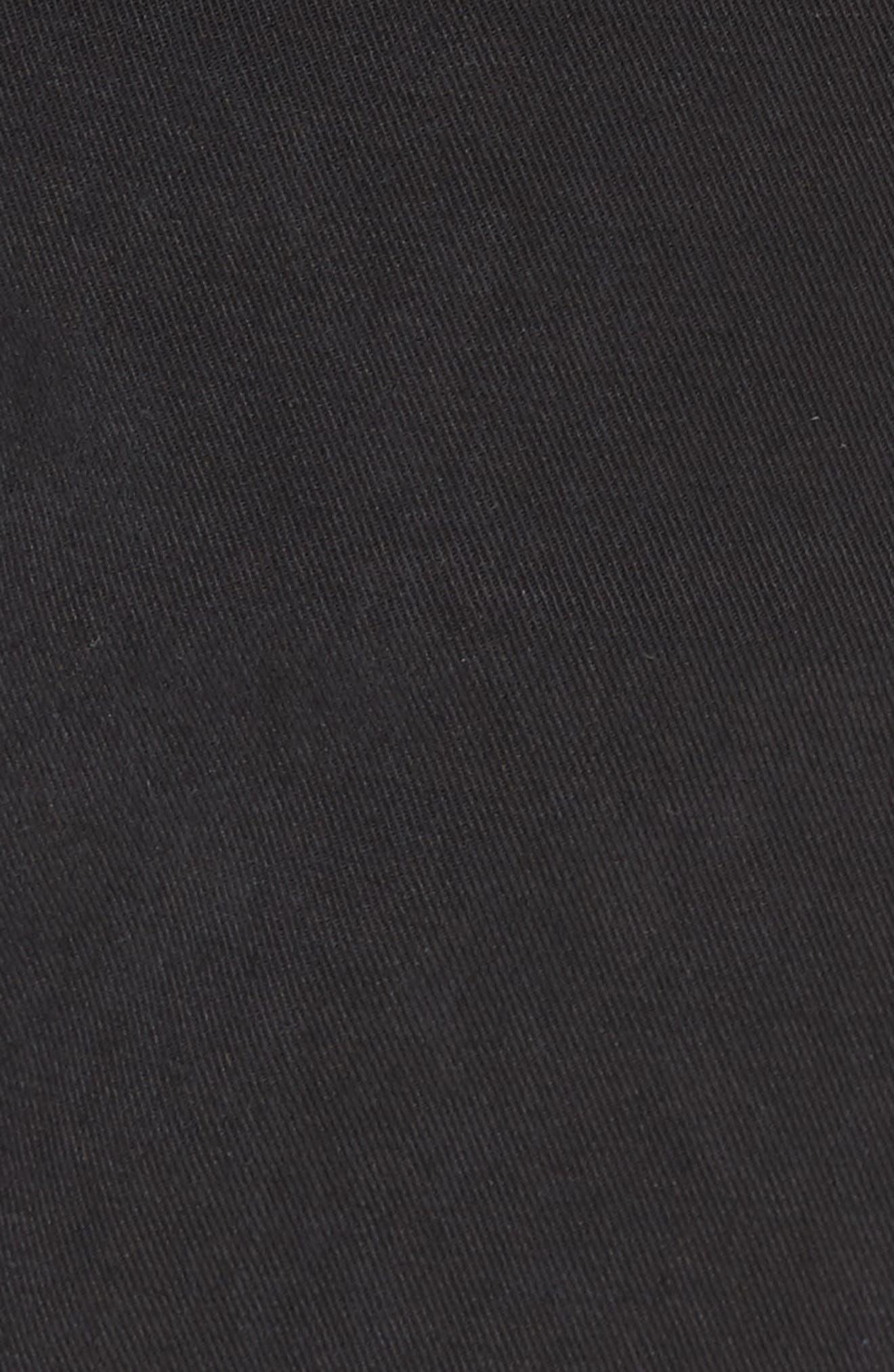 BUGATCHI,                             Trim Fit Pants,                             Alternate thumbnail 5, color,                             001