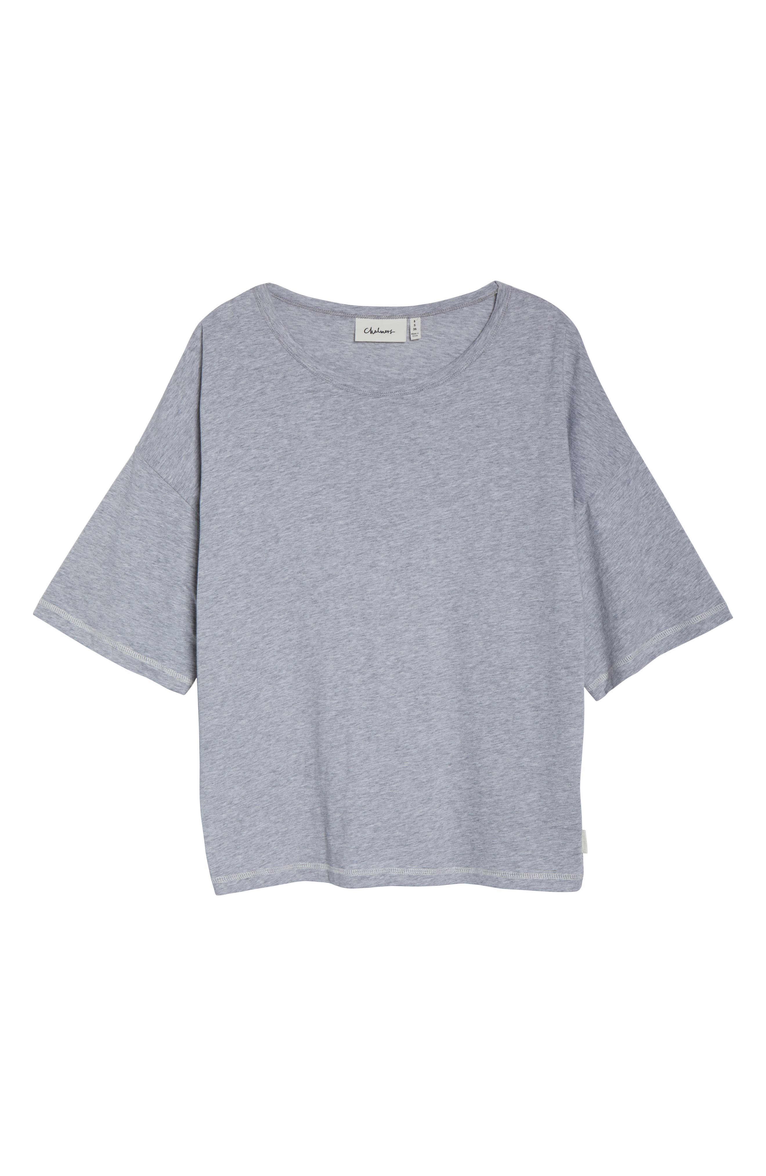 Soph Lounge Shirt,                             Alternate thumbnail 6, color,                             SMOKE MARLE