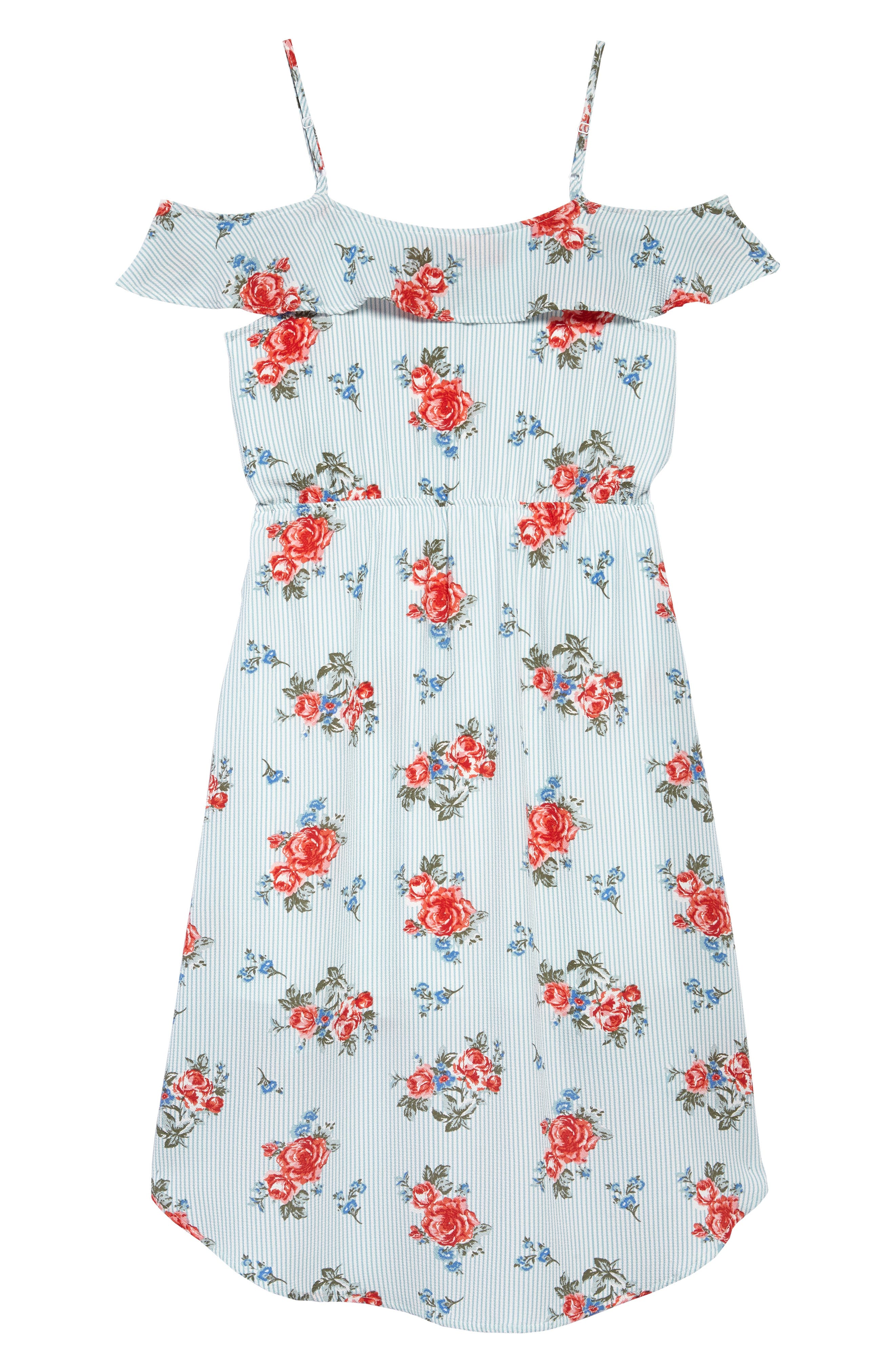 High/Low Dress,                             Alternate thumbnail 2, color,                             400
