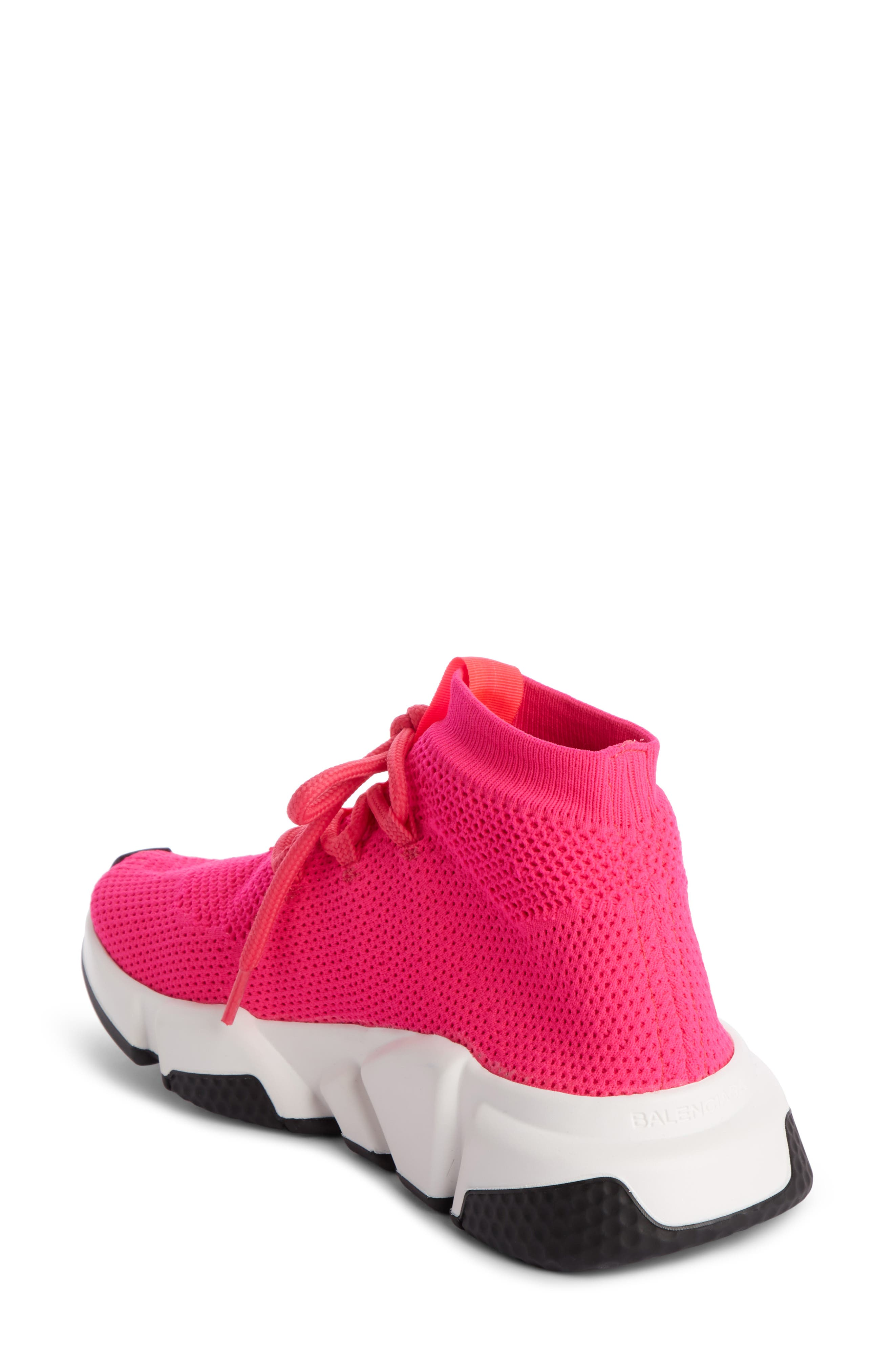 Low Speed Lace-Up Sneaker,                             Alternate thumbnail 2, color,                             PINK
