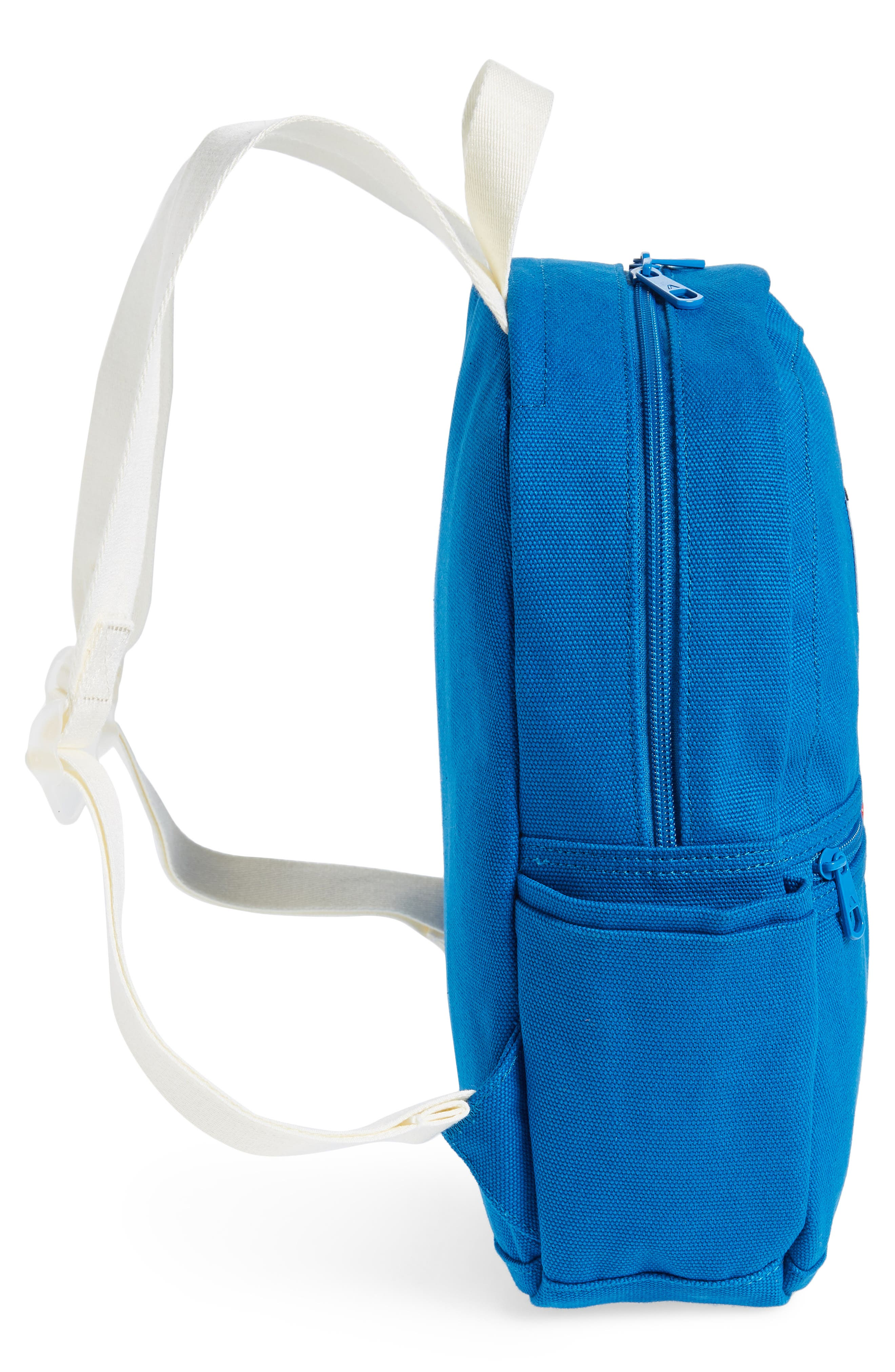 Kensington Mini Kane Canvas Backpack,                             Alternate thumbnail 5, color,                             POOL