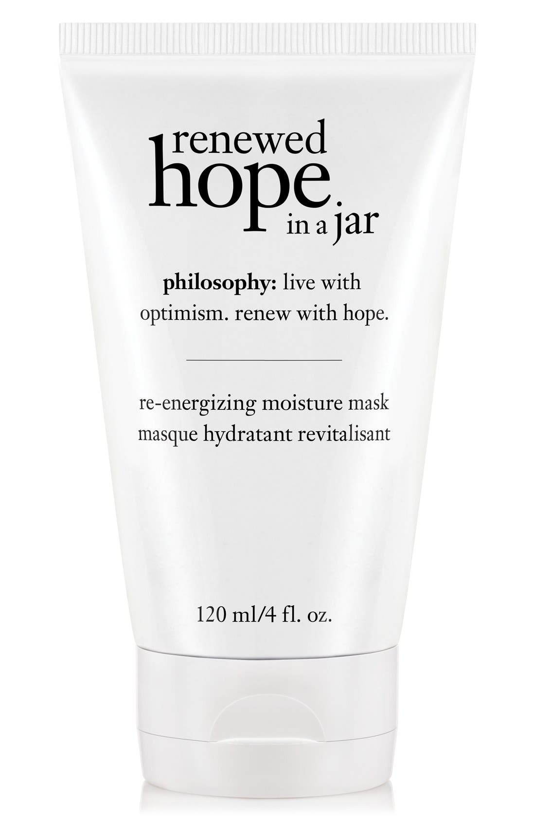 renewed hope in a jar re-energizing moisture mask,                         Main,                         color, 000