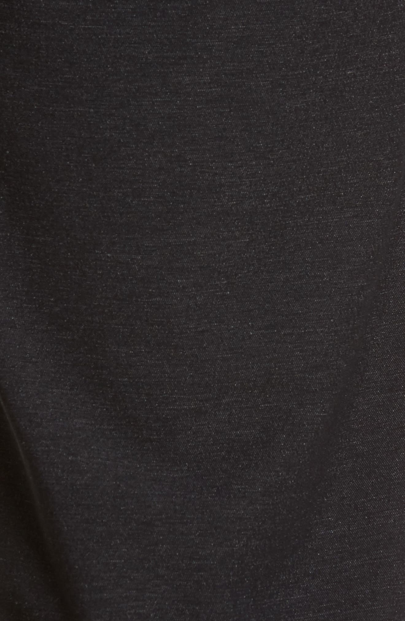Mercurio Regular Fit Four-Way Stretch Pants,                             Alternate thumbnail 5, color,                             HEATHER BLACK