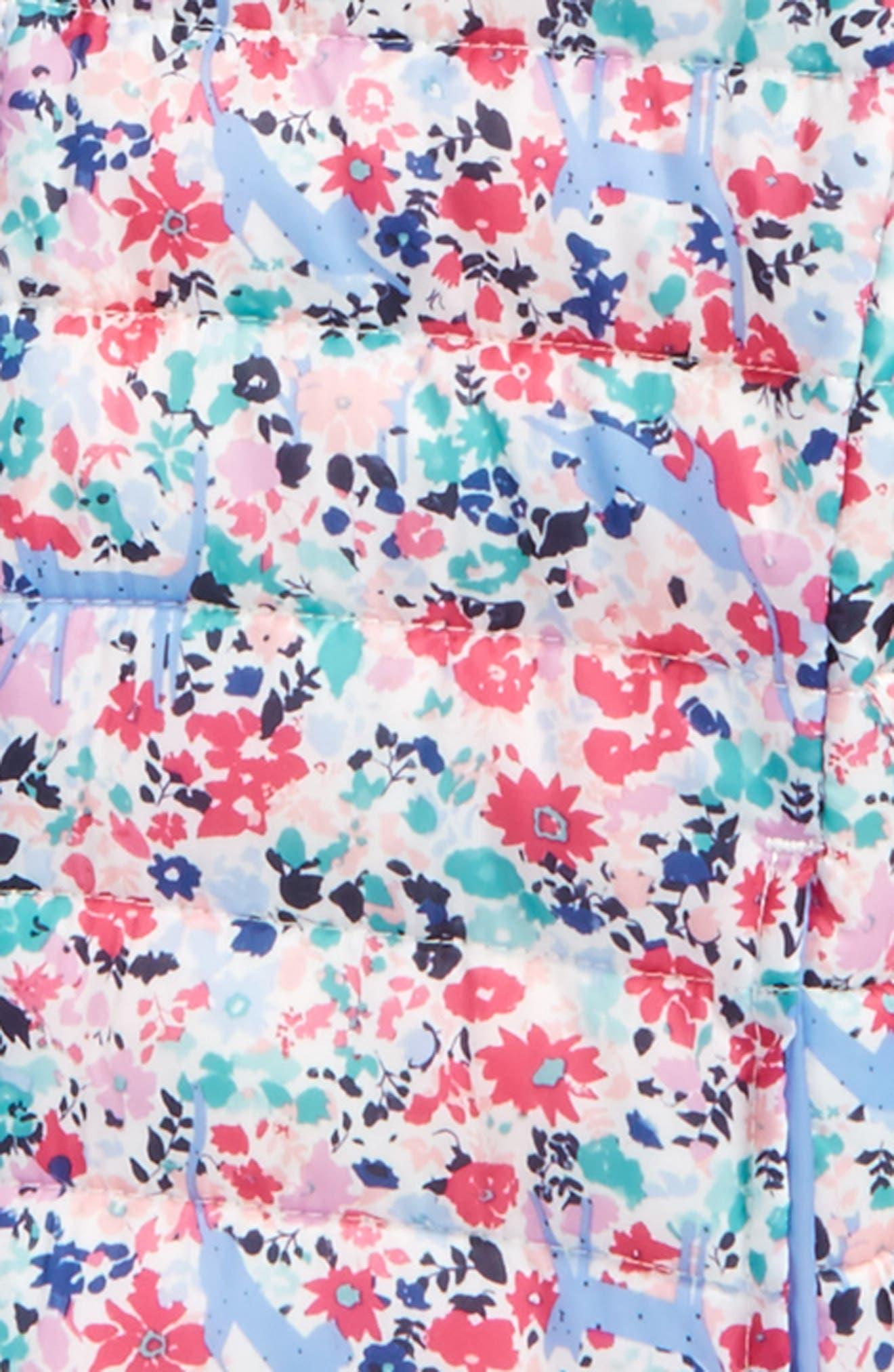 Print Packaway Hooded Jacket,                             Alternate thumbnail 2, color,
