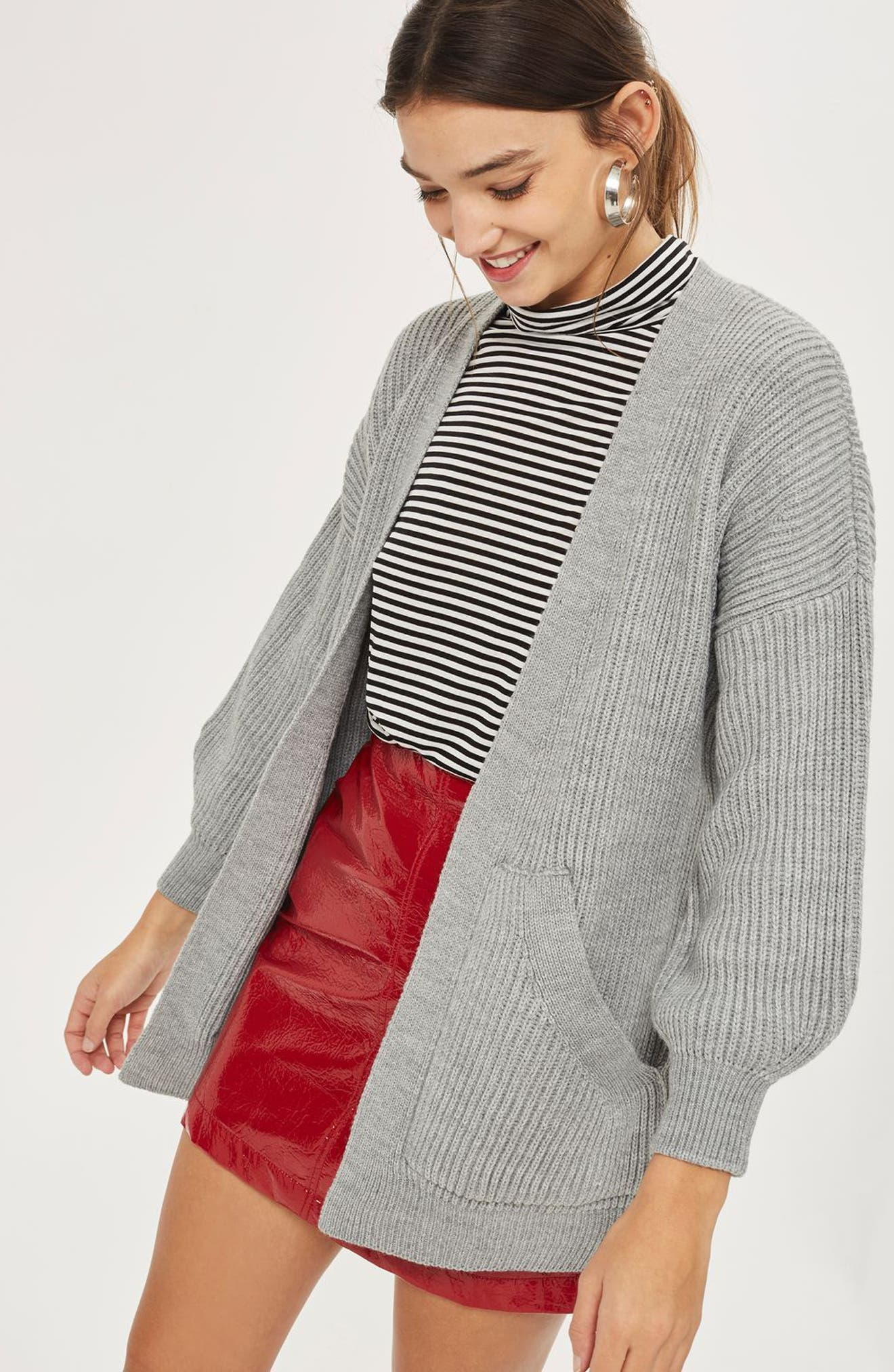 Belted Cardigan,                             Alternate thumbnail 4, color,                             020