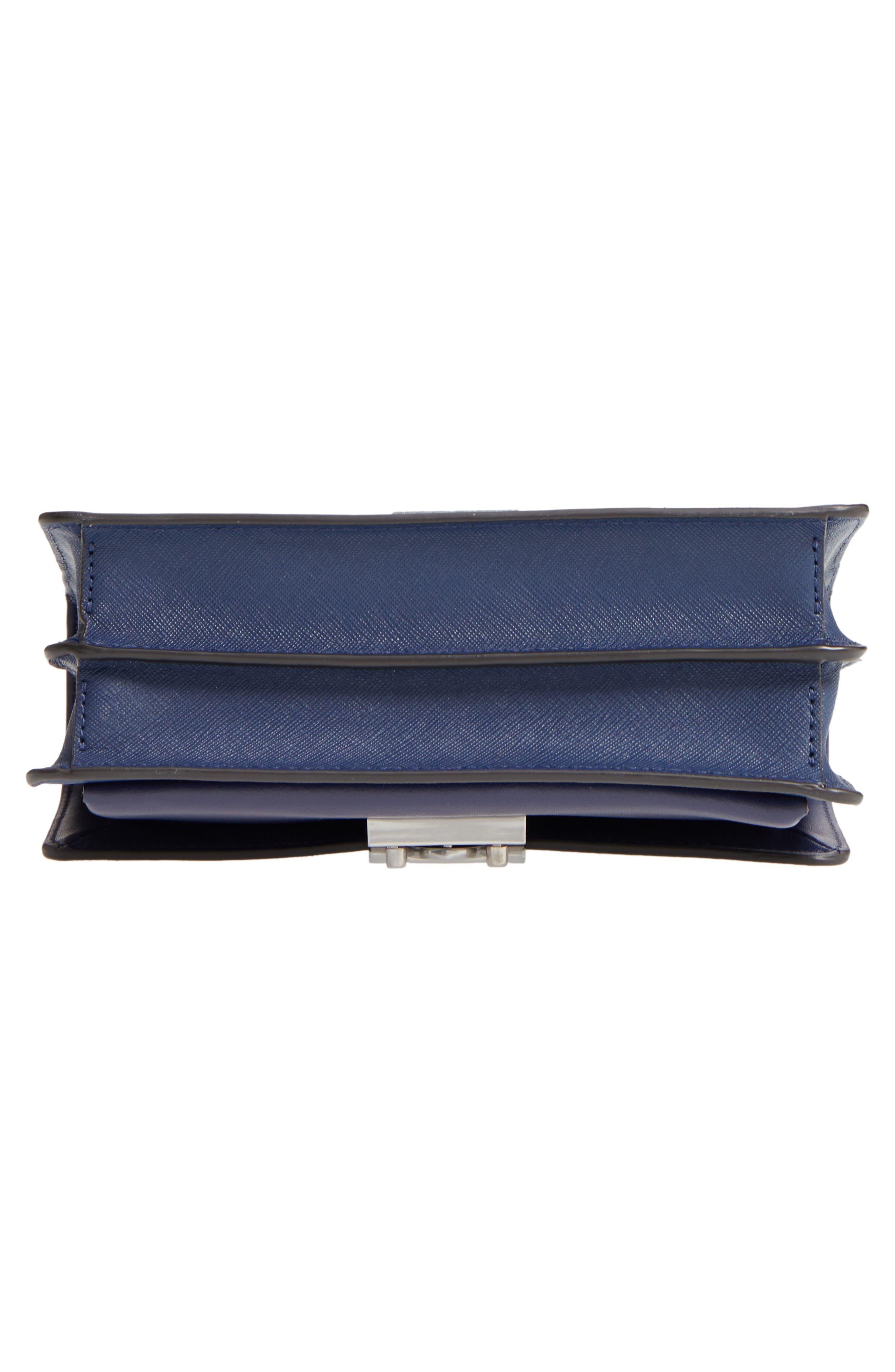 Medium Christy Leather Shoulder Bag,                             Alternate thumbnail 28, color,