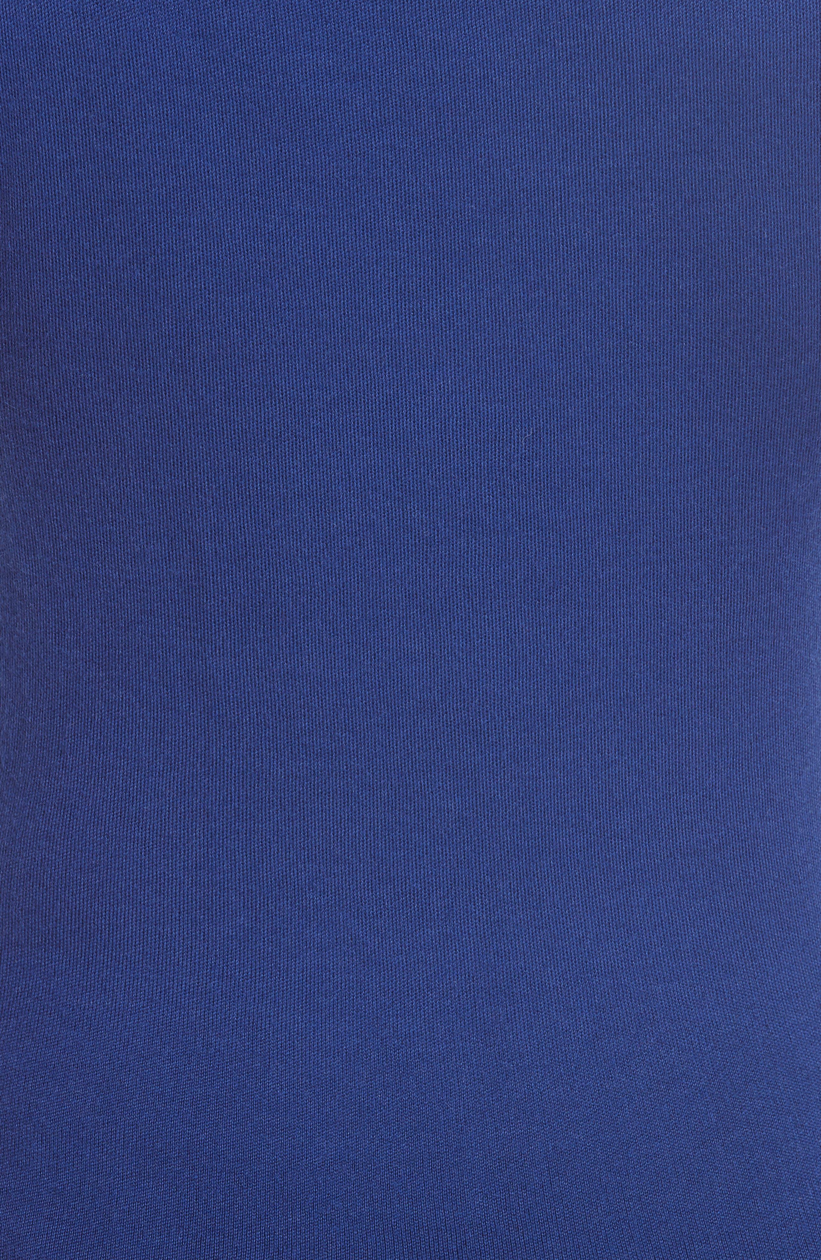 Cashmere Tank Top,                             Alternate thumbnail 5, color,                             LAPIS