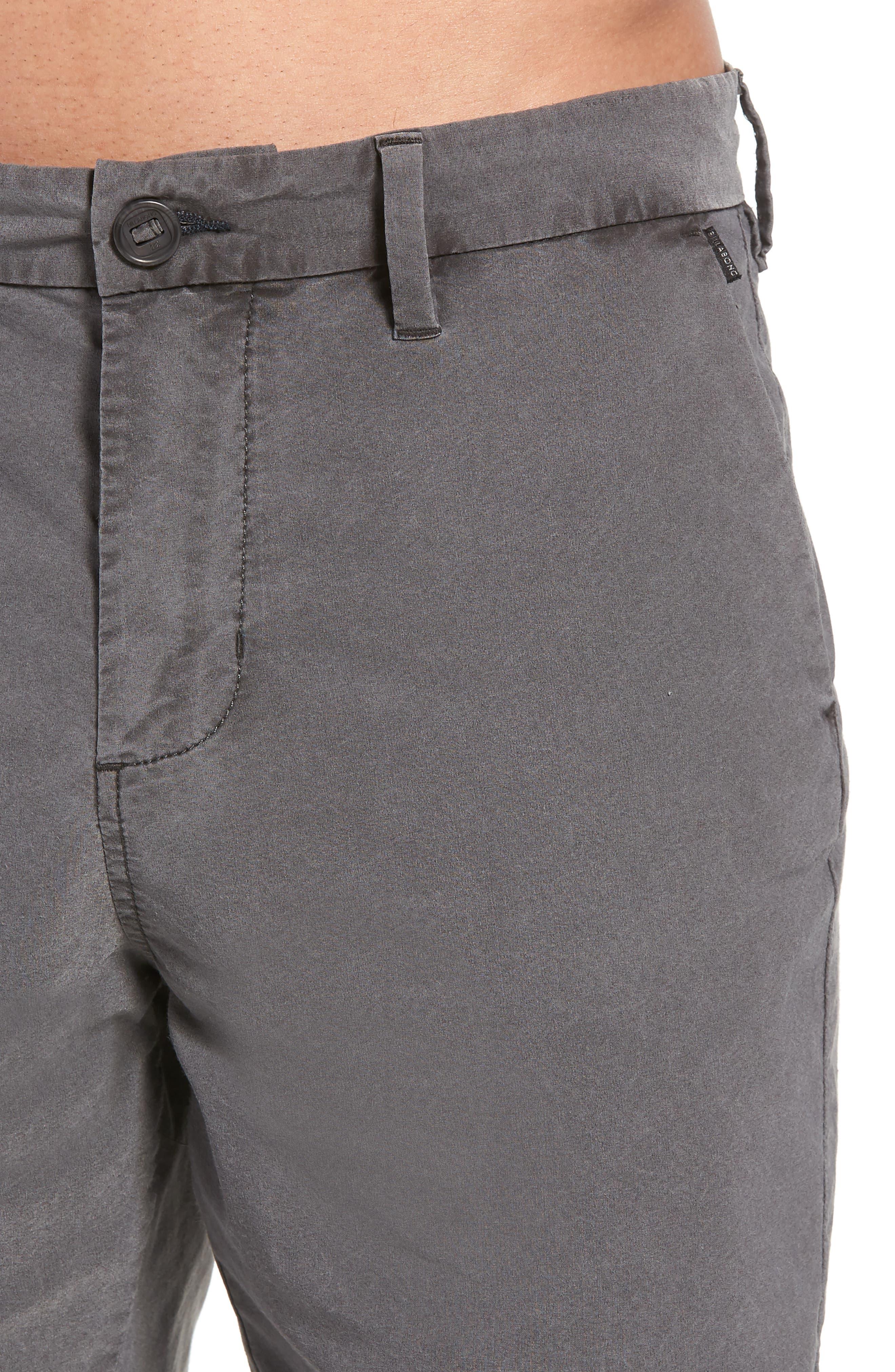 BILLABONG,                             New Order X Overdye Hybrid Shorts,                             Alternate thumbnail 4, color,                             001