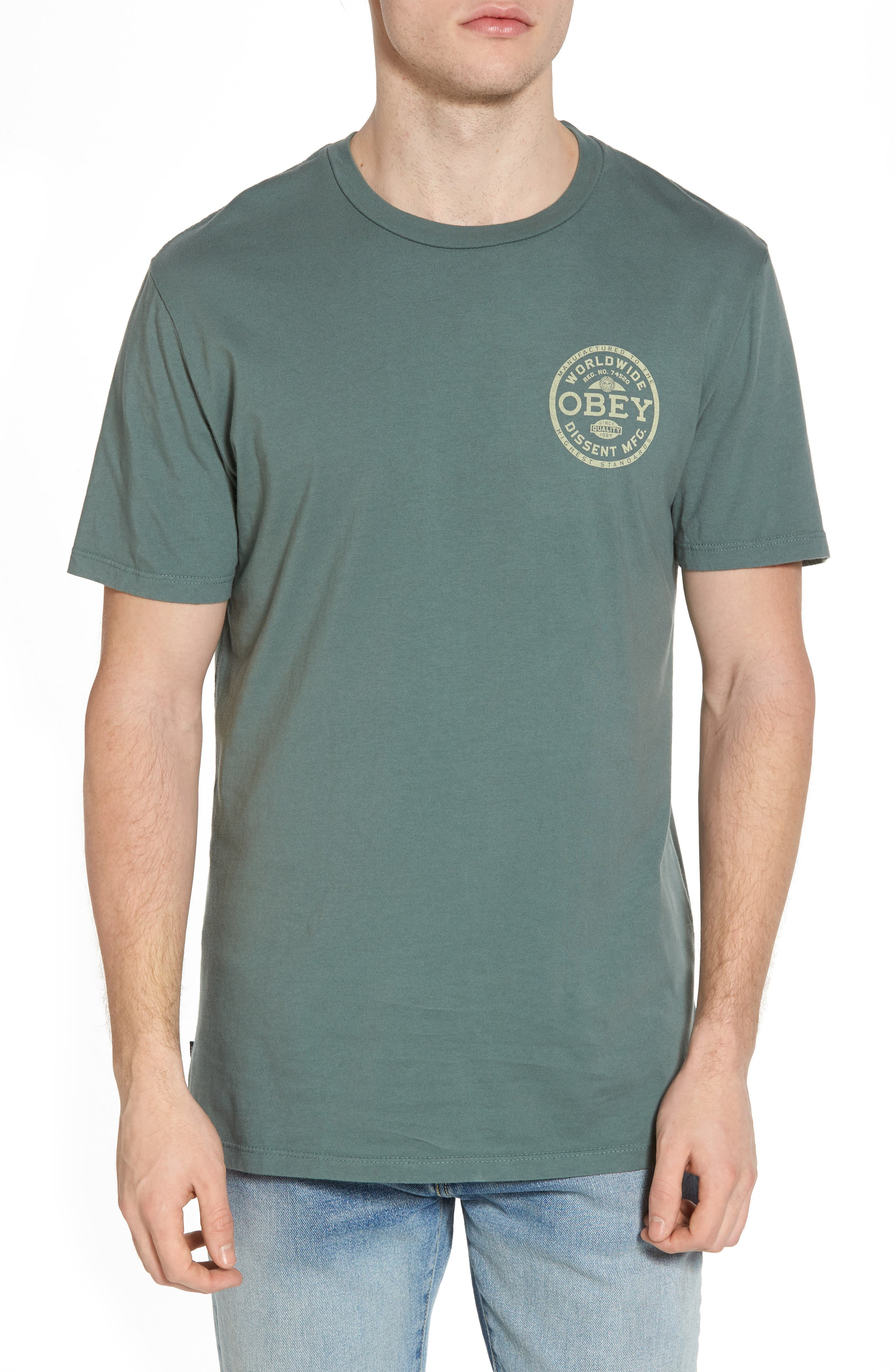 Dissent Standards T-Shirt,                         Main,                         color,