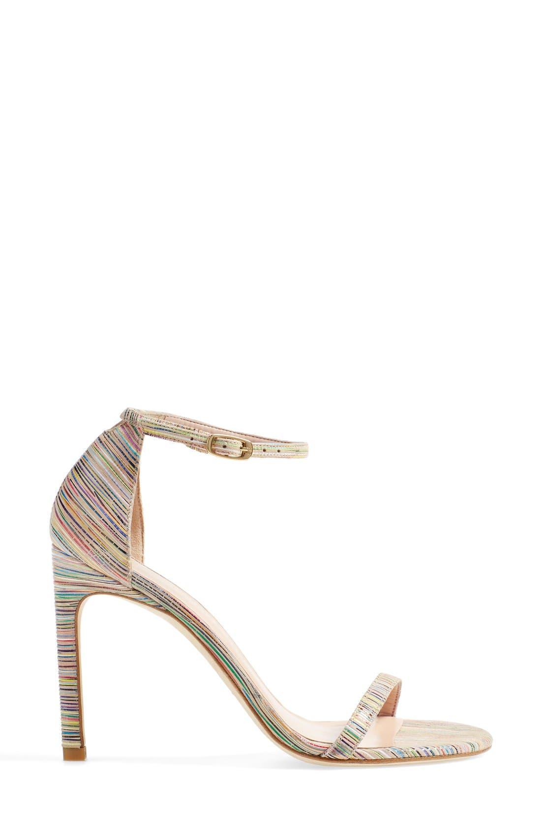 Nudistsong Ankle Strap Sandal,                             Alternate thumbnail 107, color,