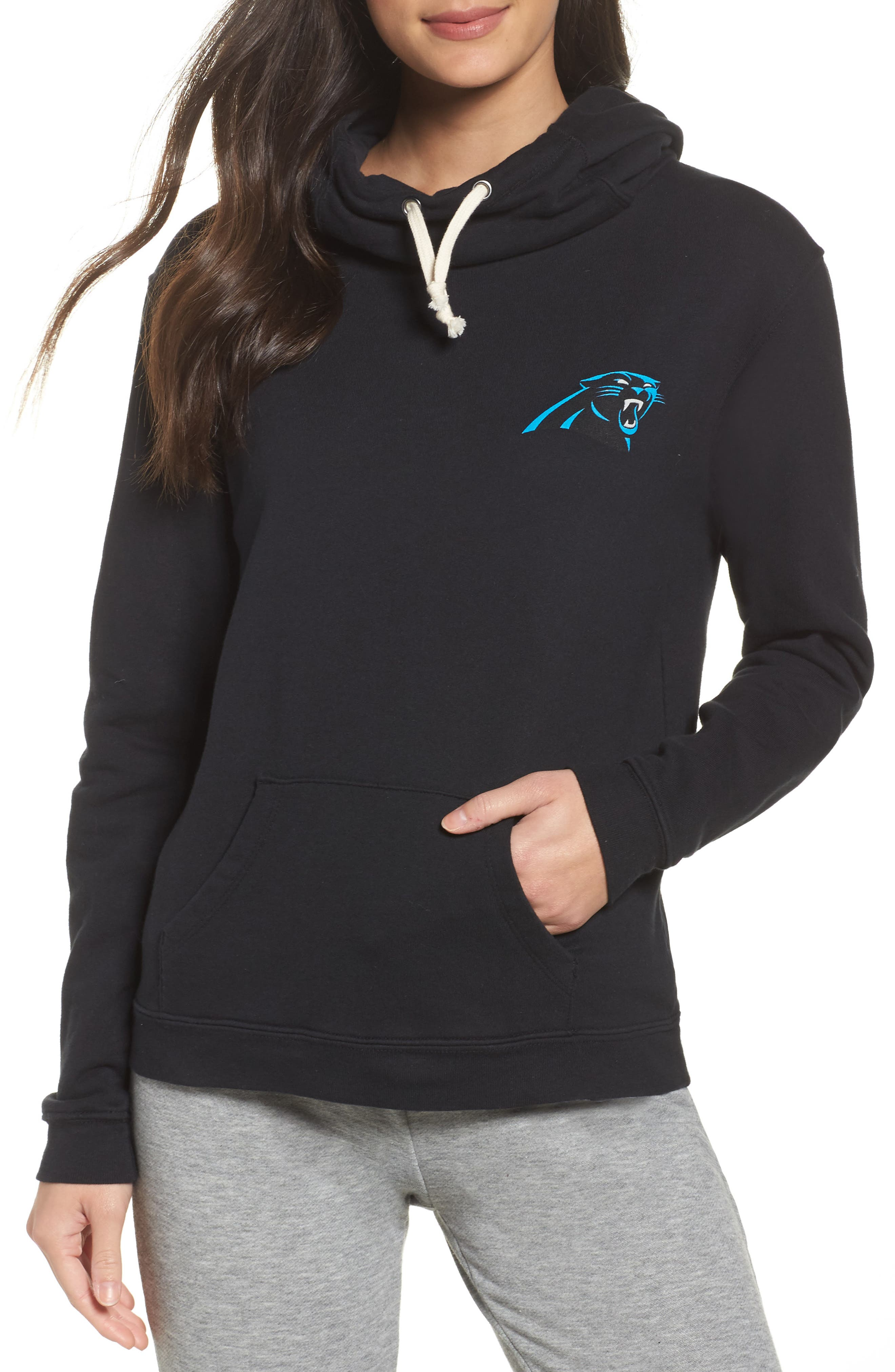 Panthers Sunday Hoodie,                             Main thumbnail 1, color,                             001