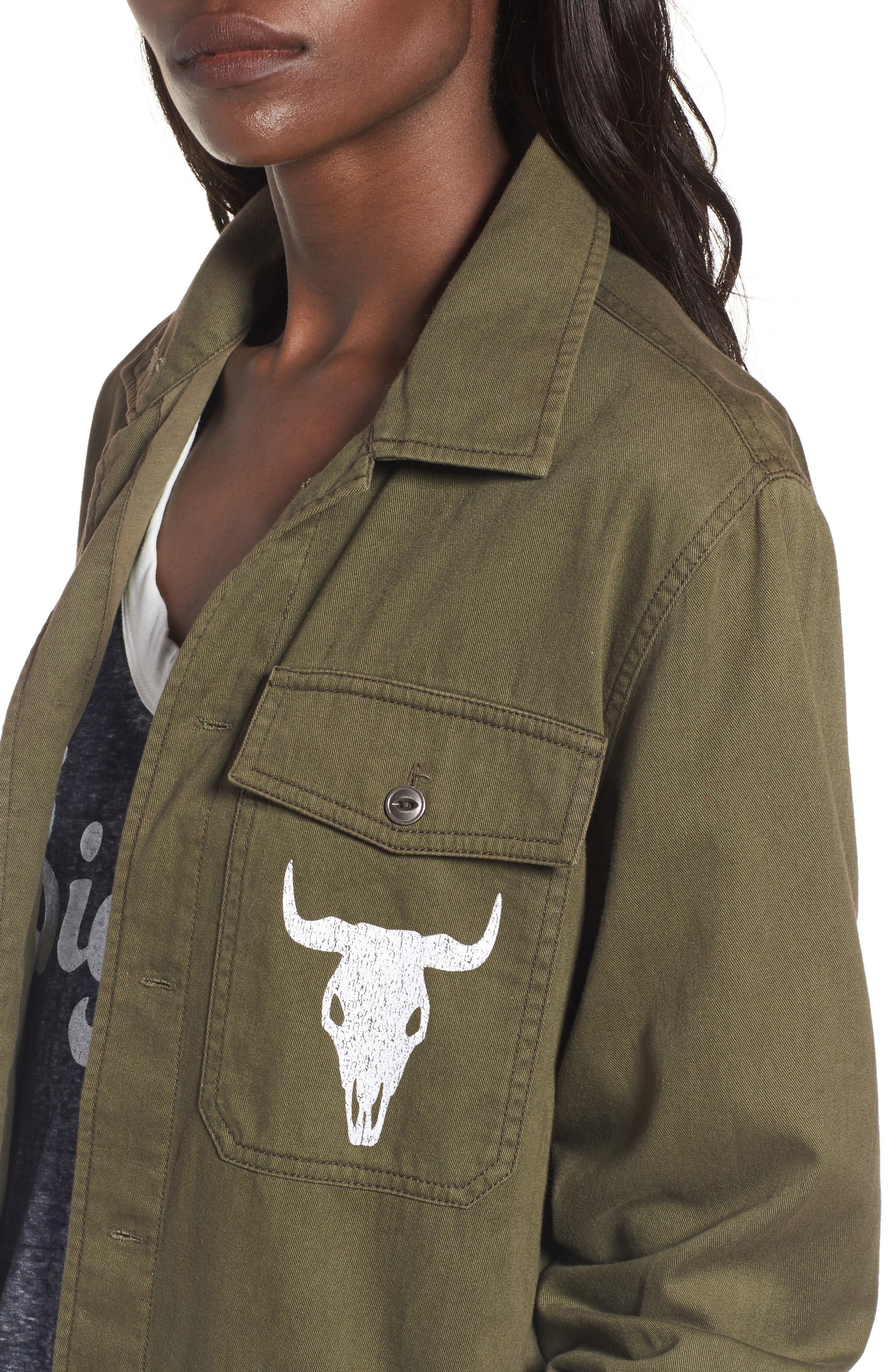 Army Jacket,                             Alternate thumbnail 4, color,                             300