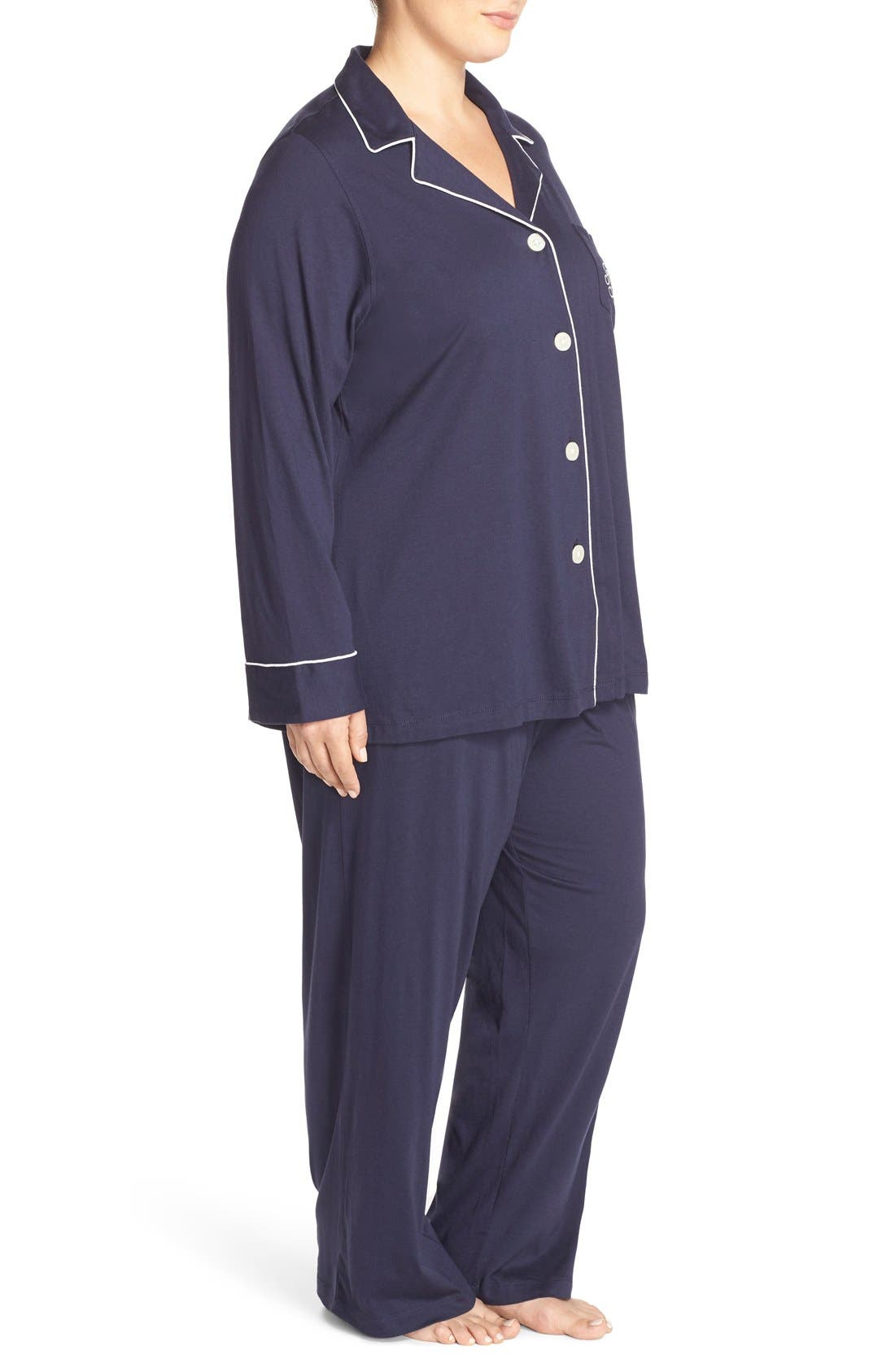 Knit Pajamas,                             Alternate thumbnail 5, color,                             410
