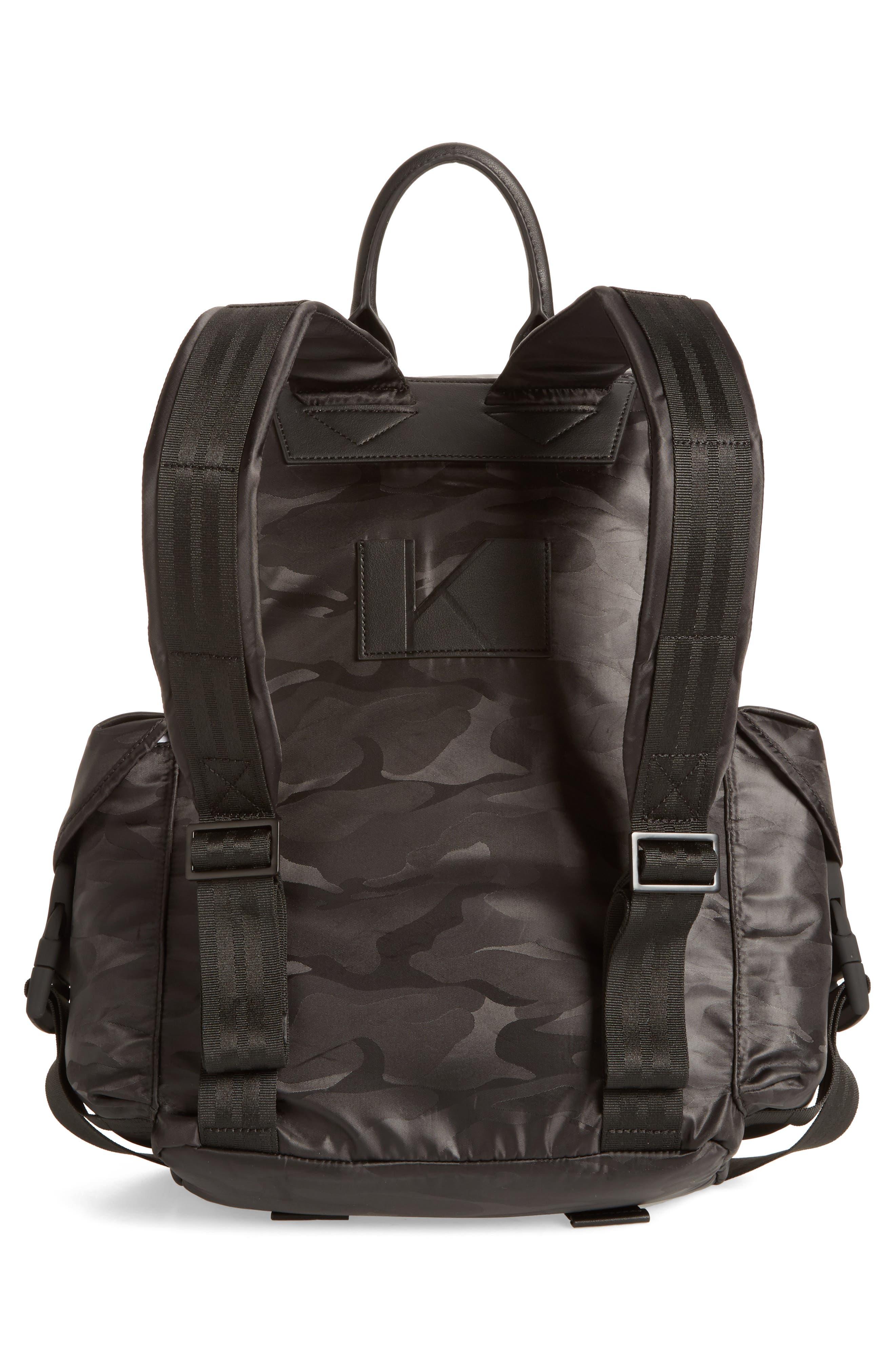 Jordyn Nylon Backpack,                             Alternate thumbnail 7, color,