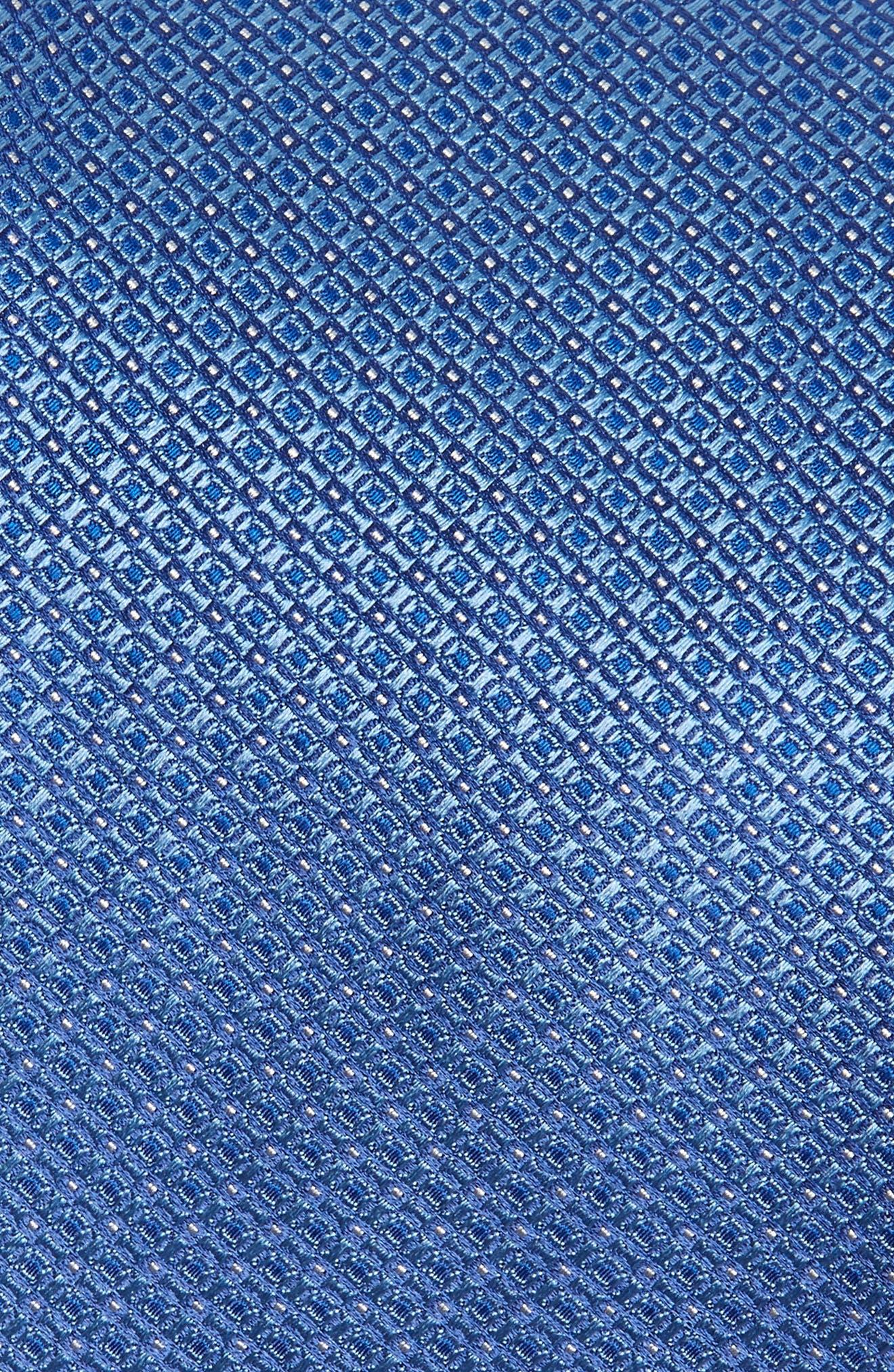Neat Silk Tie,                             Alternate thumbnail 2, color,                             LIGHT BLUE