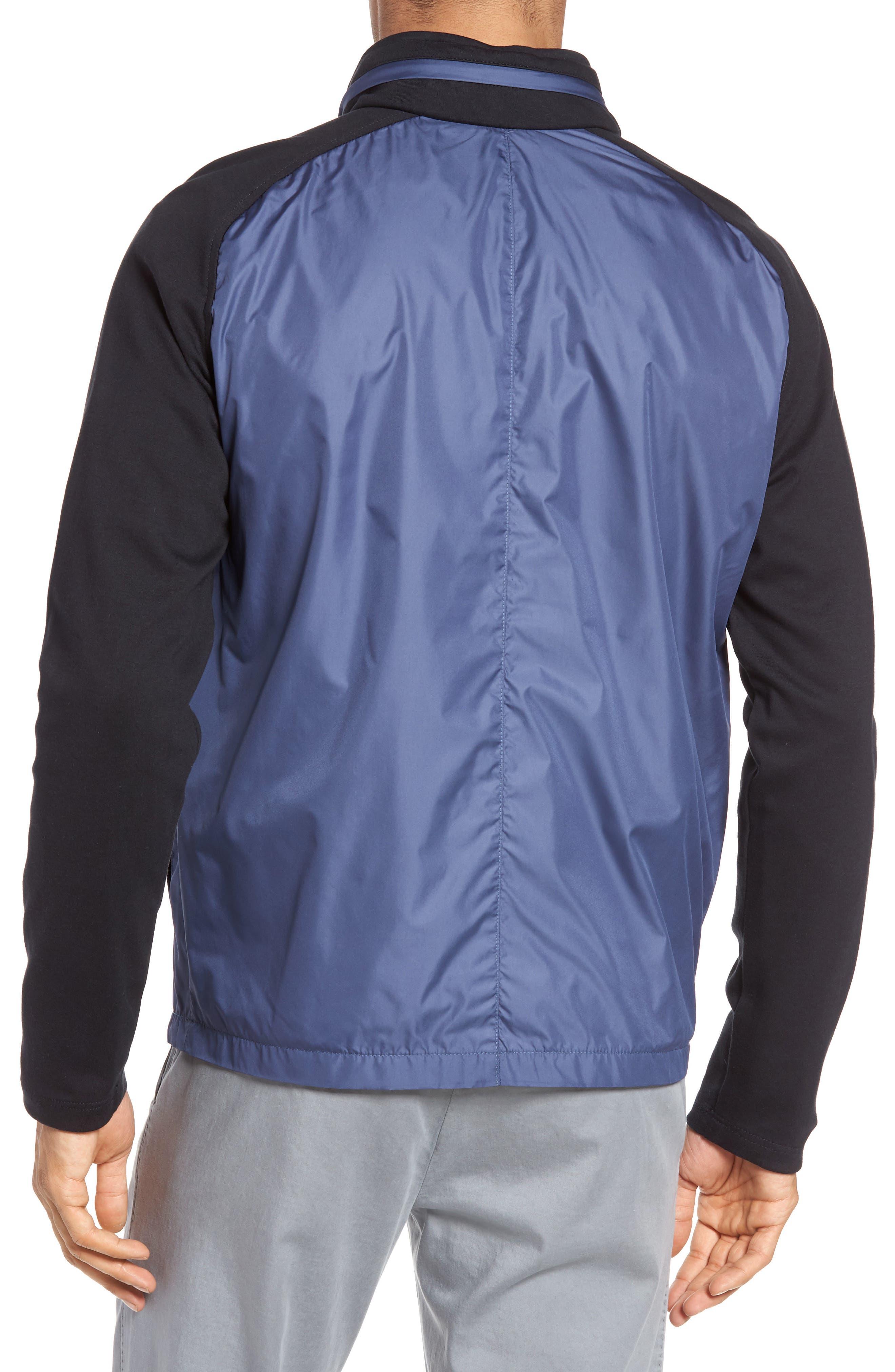 Syconium Mixed Media Zip Front Jacket,                             Alternate thumbnail 2, color,                             400