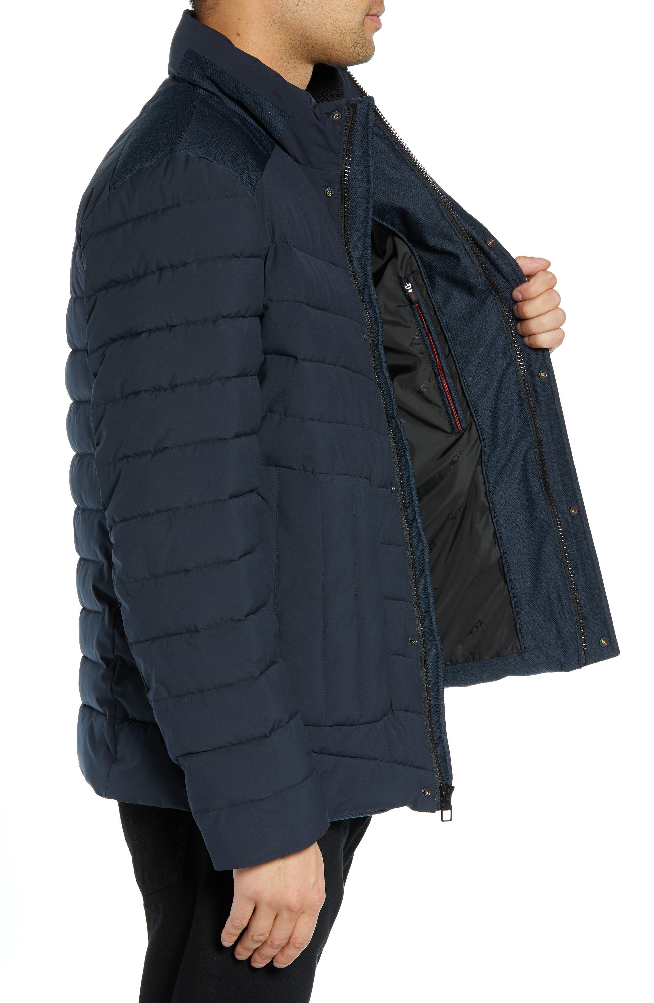 Heritage Quilted Jacket,                             Alternate thumbnail 3, color,                             410