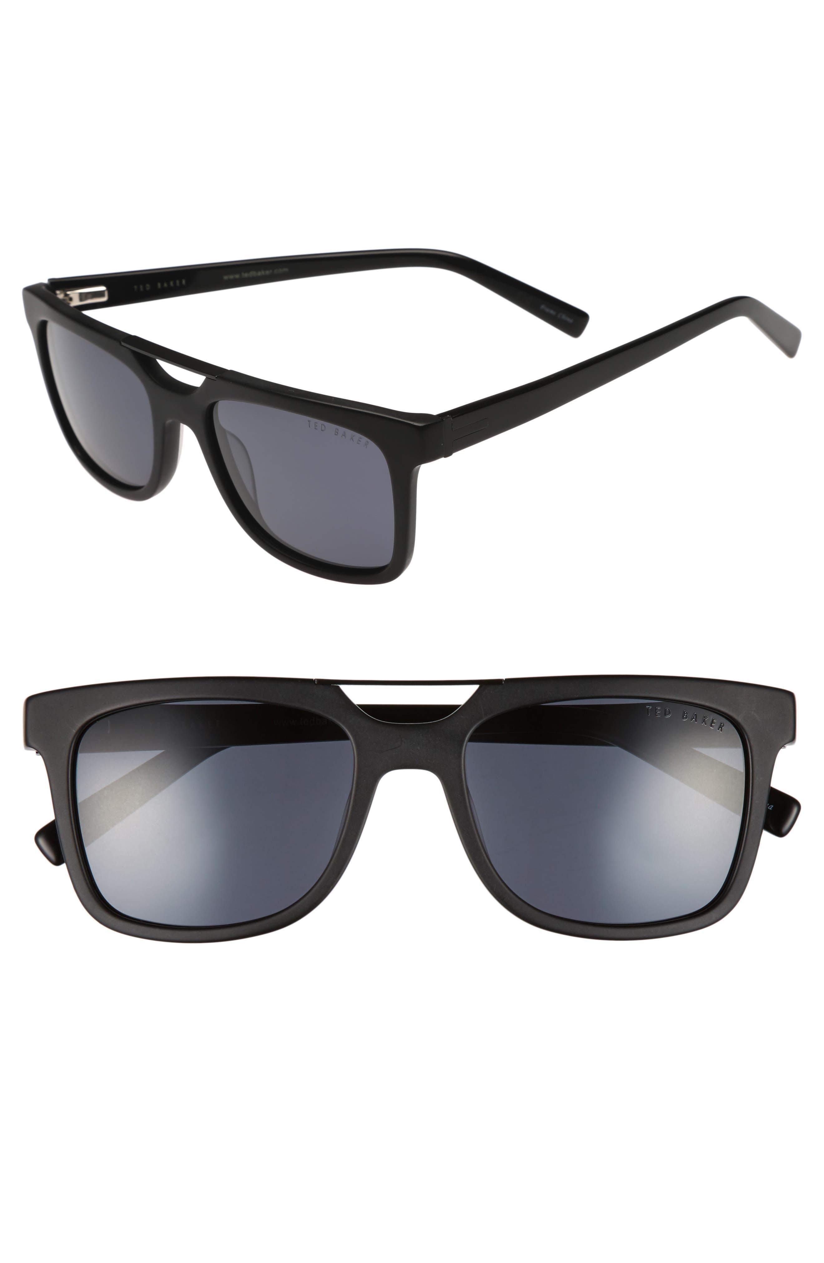 54mm Polarized Sunglasses,                             Main thumbnail 1, color,                             001