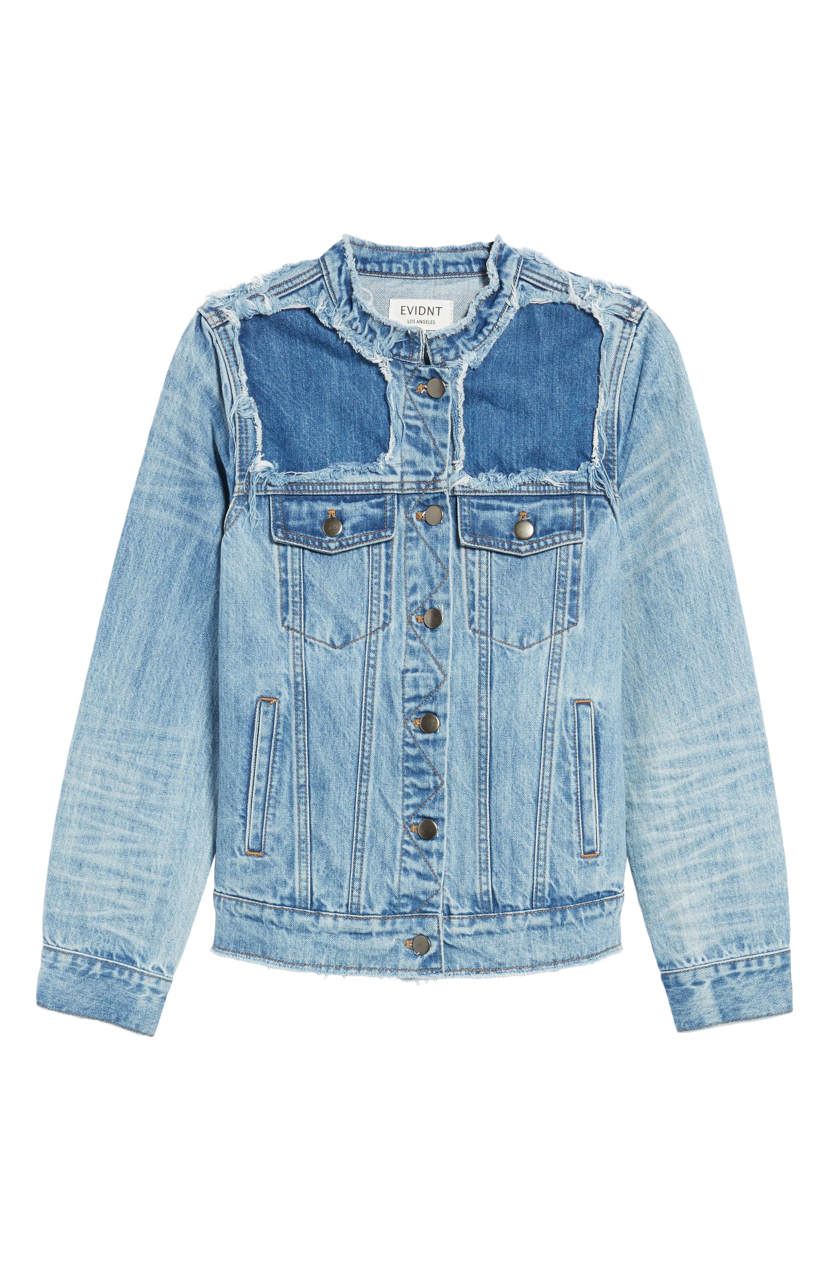 Bastille Jean Jacket,                             Alternate thumbnail 5, color,                             401