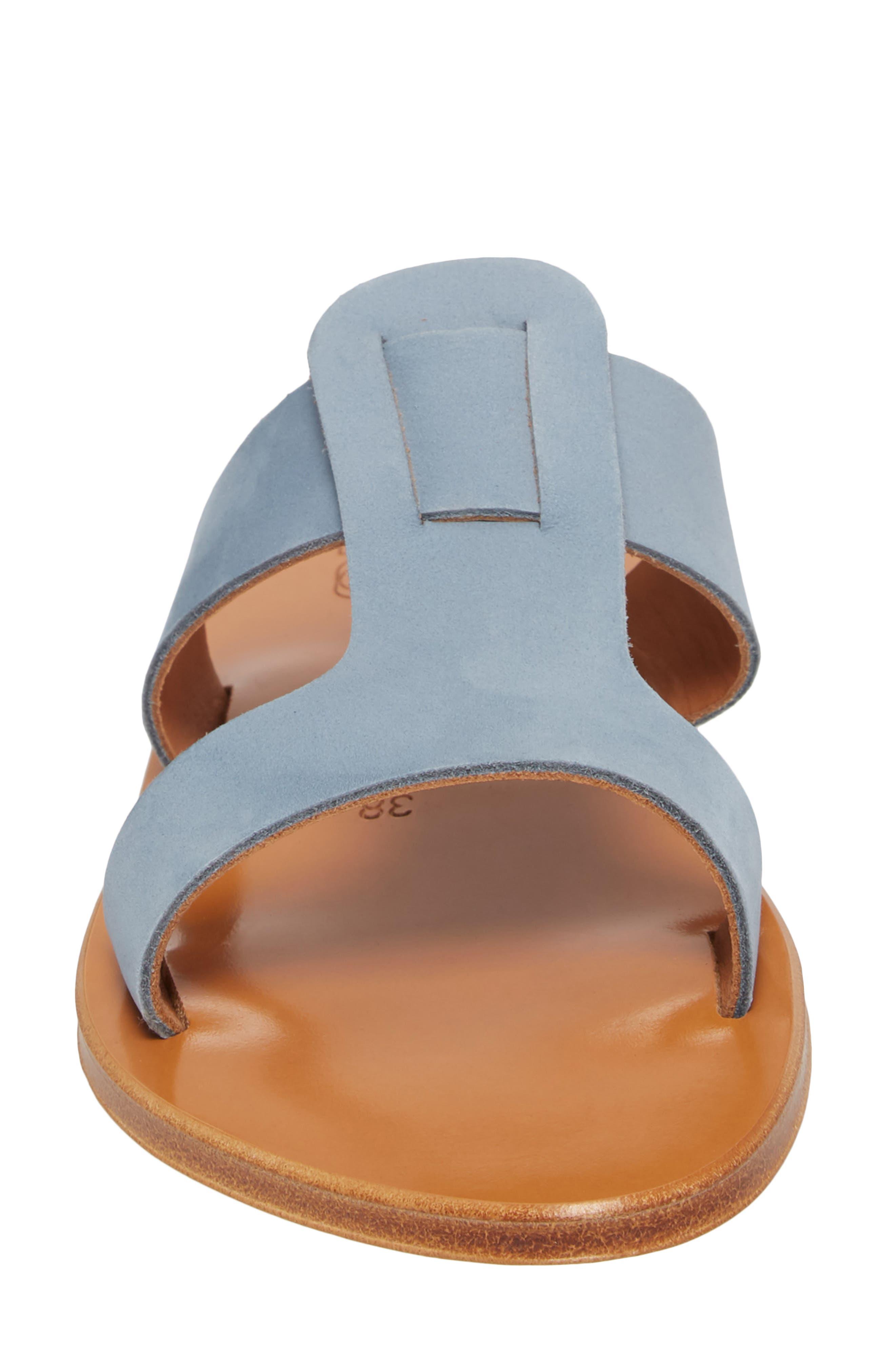 K. Jacques St. Tropez Slide Sandal,                             Alternate thumbnail 4, color,                             021